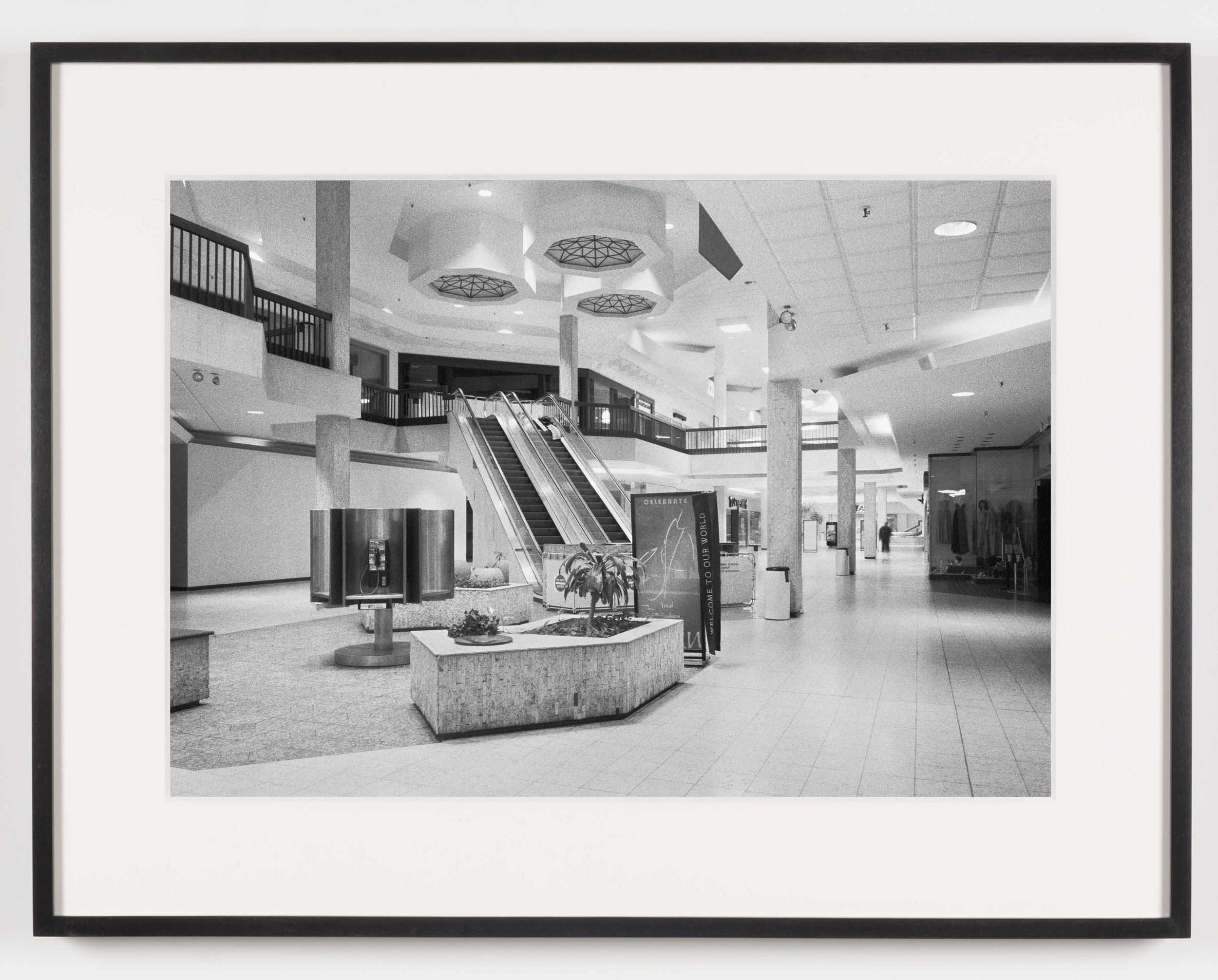 Randall Park Mall (View of Interior), North Randall, OH, Est. 1976, Demo. 2014    2011   Epson Ultrachrome K3 archival ink jet print on Hahnemühle Photo Rag paper  21 5/8 x 28 1/8 inches   American Passages, 2001–2011