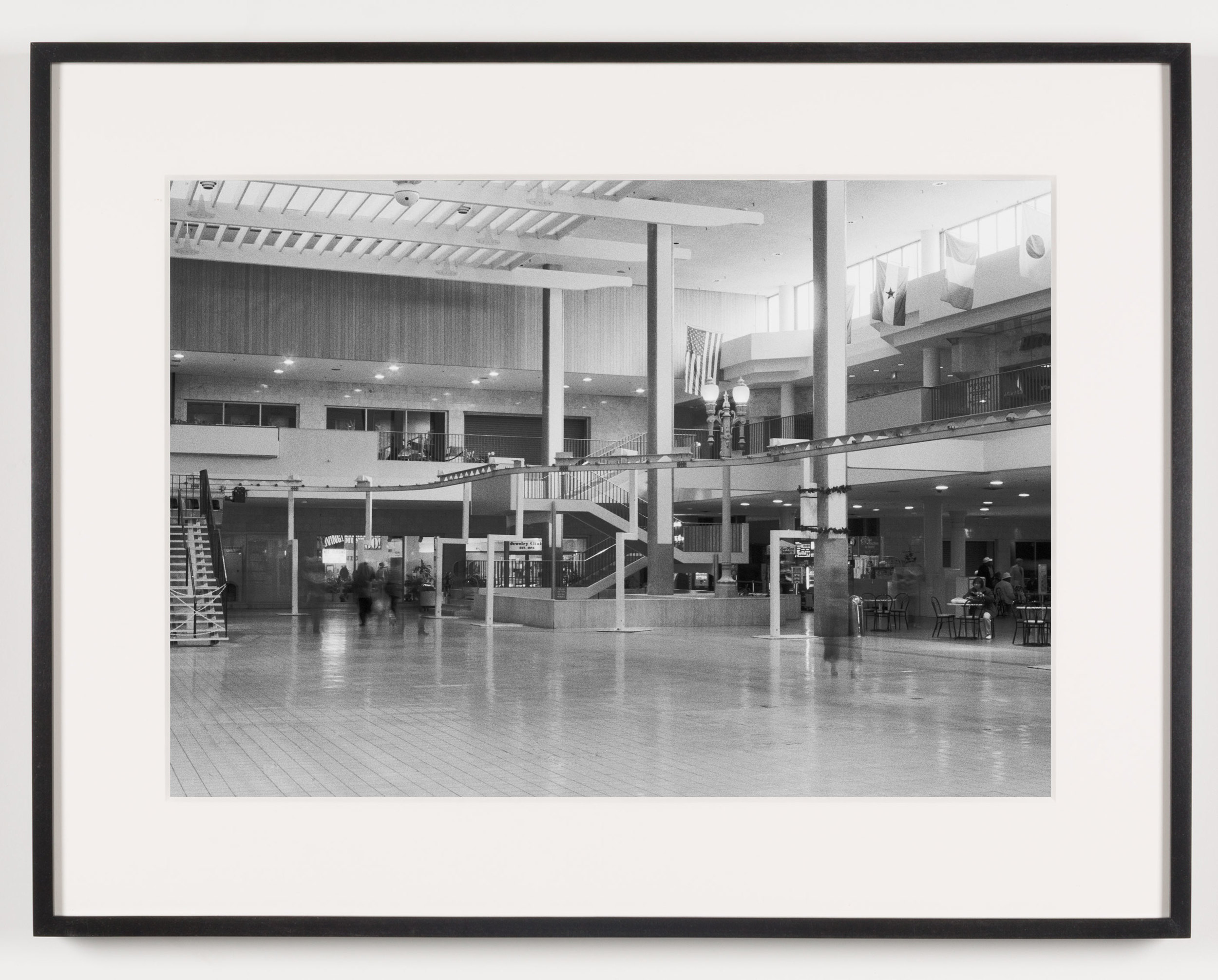 Midtown Plaza (View of Central Plaza Looking South), Rochester, NY. Est. 1962, Demo 2008    2011   Epson Ultrachrome K3 archival ink jet print on Hahnemühle Photo Rag paper  21 5/8 x 28 1/8 inches   American Passages, 2001–2011