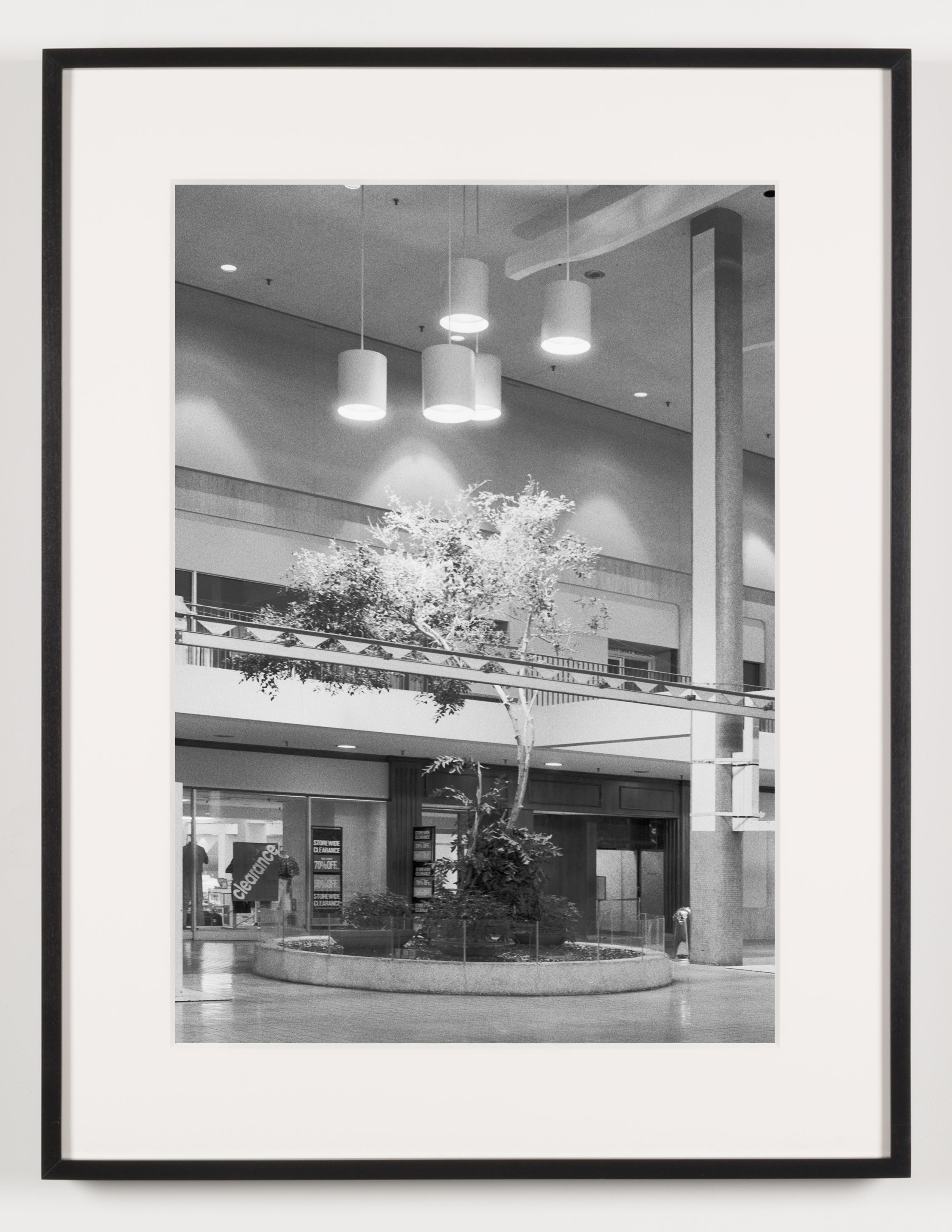 Midtown Plaza (View of Central Plaza), Rochester, NY, Est. 1962, Demo. 2010    2011   Epson Ultrachrome K3 archival ink jet print on Hahnemühle Photo Rag paper  21 5/8 x 28 1/8 inches   American Passages, 2001–2011