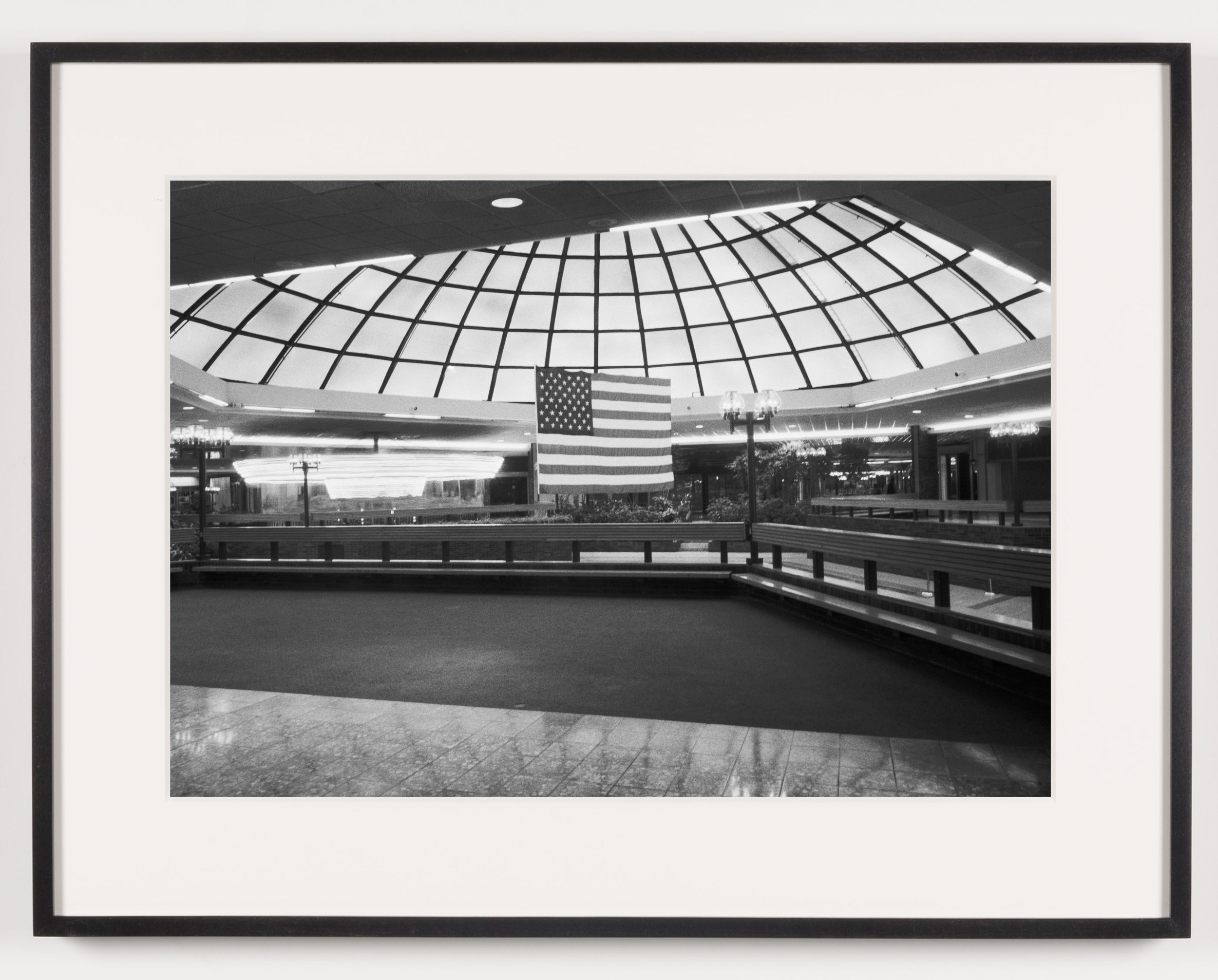 Southwyck Mall (View of Fountain), Toledo, OH, Est. 1972, Demo. 2009    2011   Epson Ultrachrome K3 archival ink jet print on Hahnemühle Photo Rag paper  21 5/8 x 28 1/8 inches   A Diagram of Forces, 2011