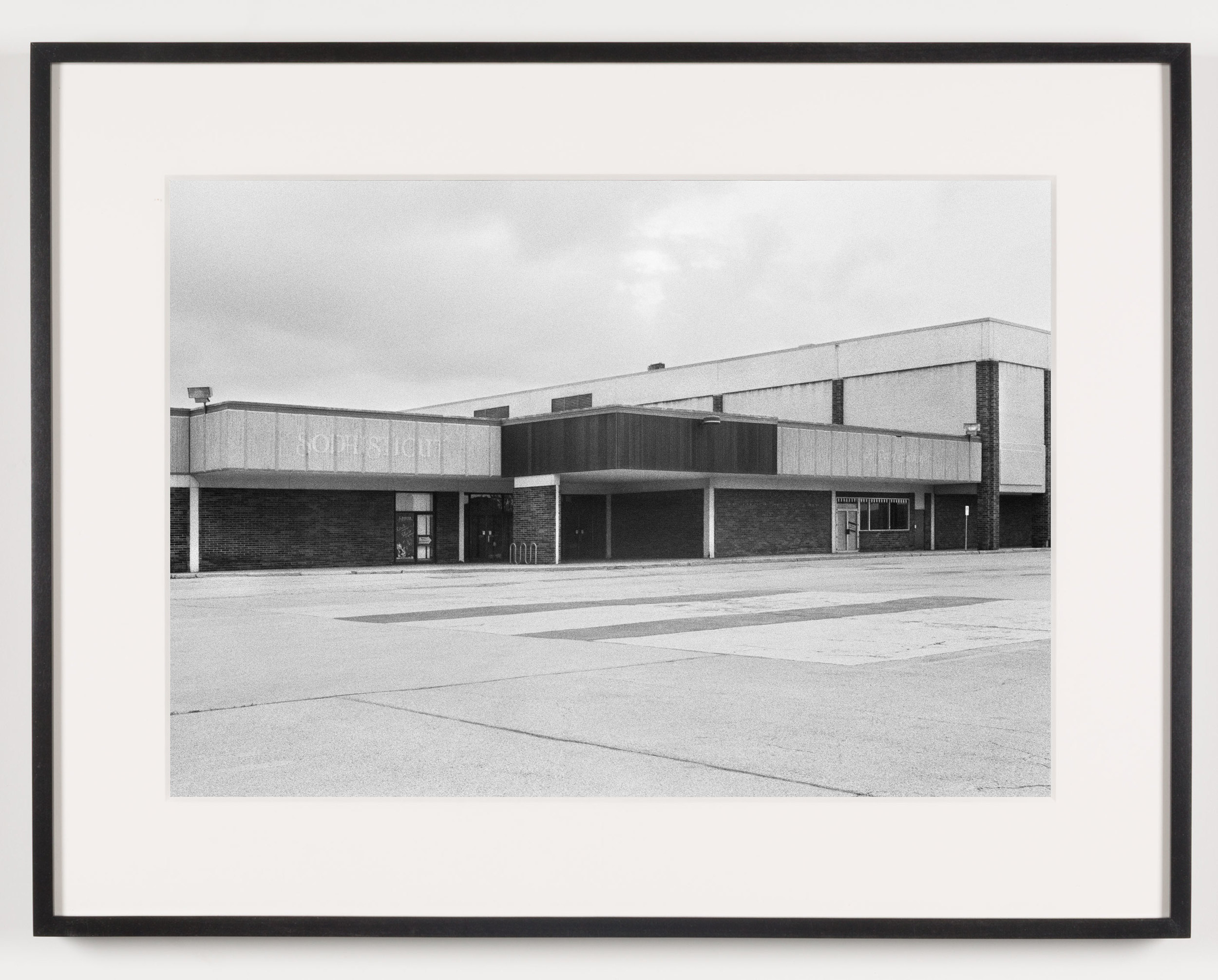 Southwyck Mall ('Sophisticut'), Toledo, OH, Est. 1972, Demo. 2009    2011   Epson Ultrachrome K3 archival ink jet print on Hahnemühle Photo Rag paper  21 5/8 x 28 1/8 inches   A Diagram of Forces, 2011