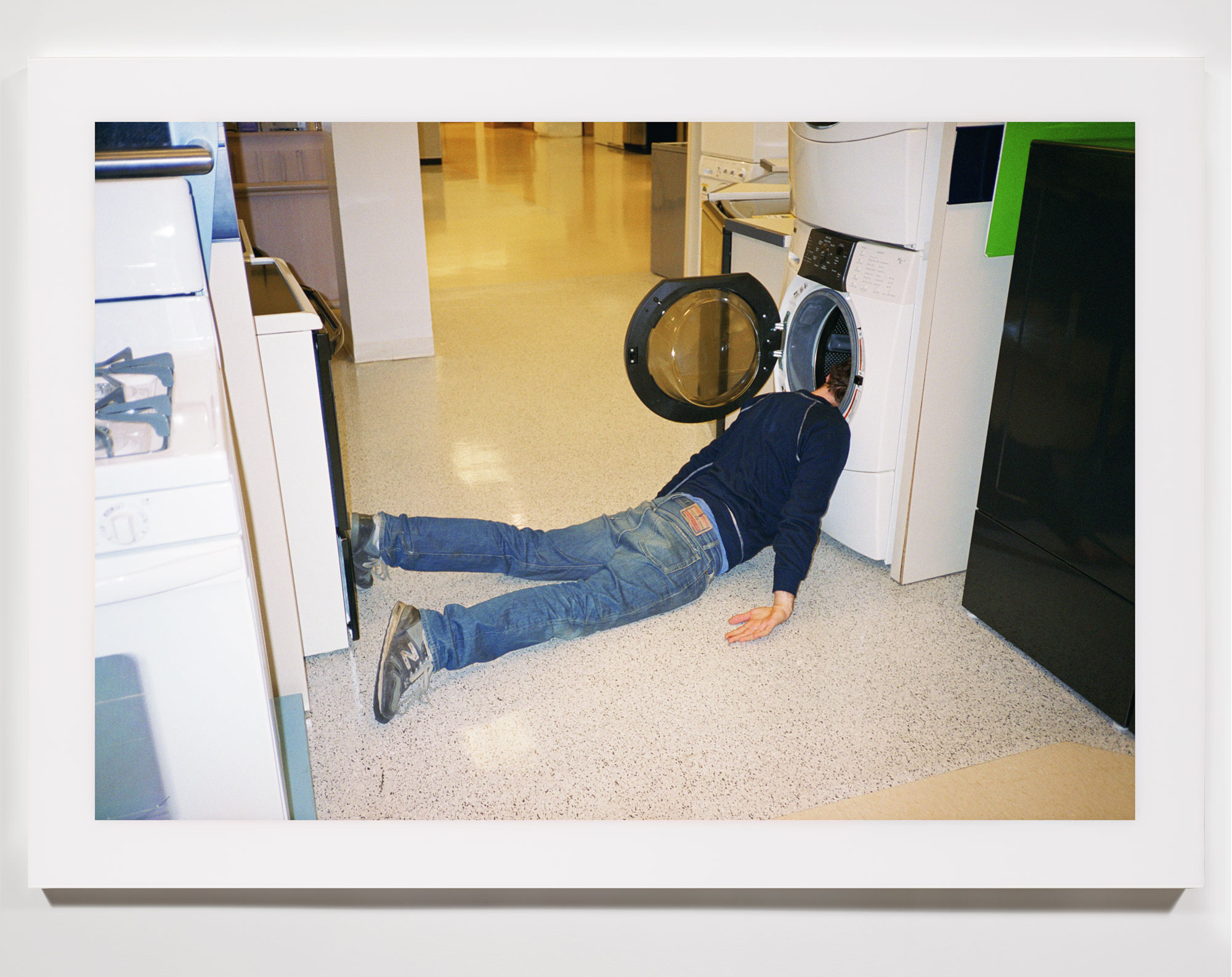 The Phenomenology of Shopping (Sears, Westfield Mall, Bridgeport, CT)    2002   Chromogenic print  68 x 47 3/4 inches