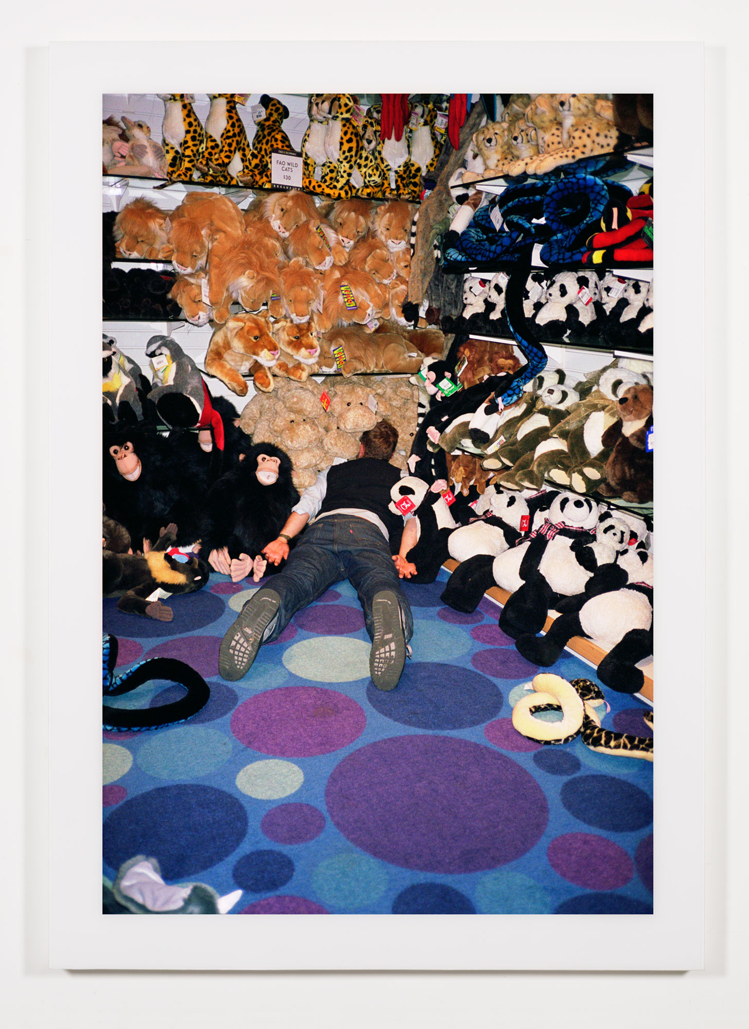 The Phenomenology of Shopping (FAO Schwartz, The Grove, Los Angeles, CA)    2002   Chromogenic print  68 x 47 3/4 inches