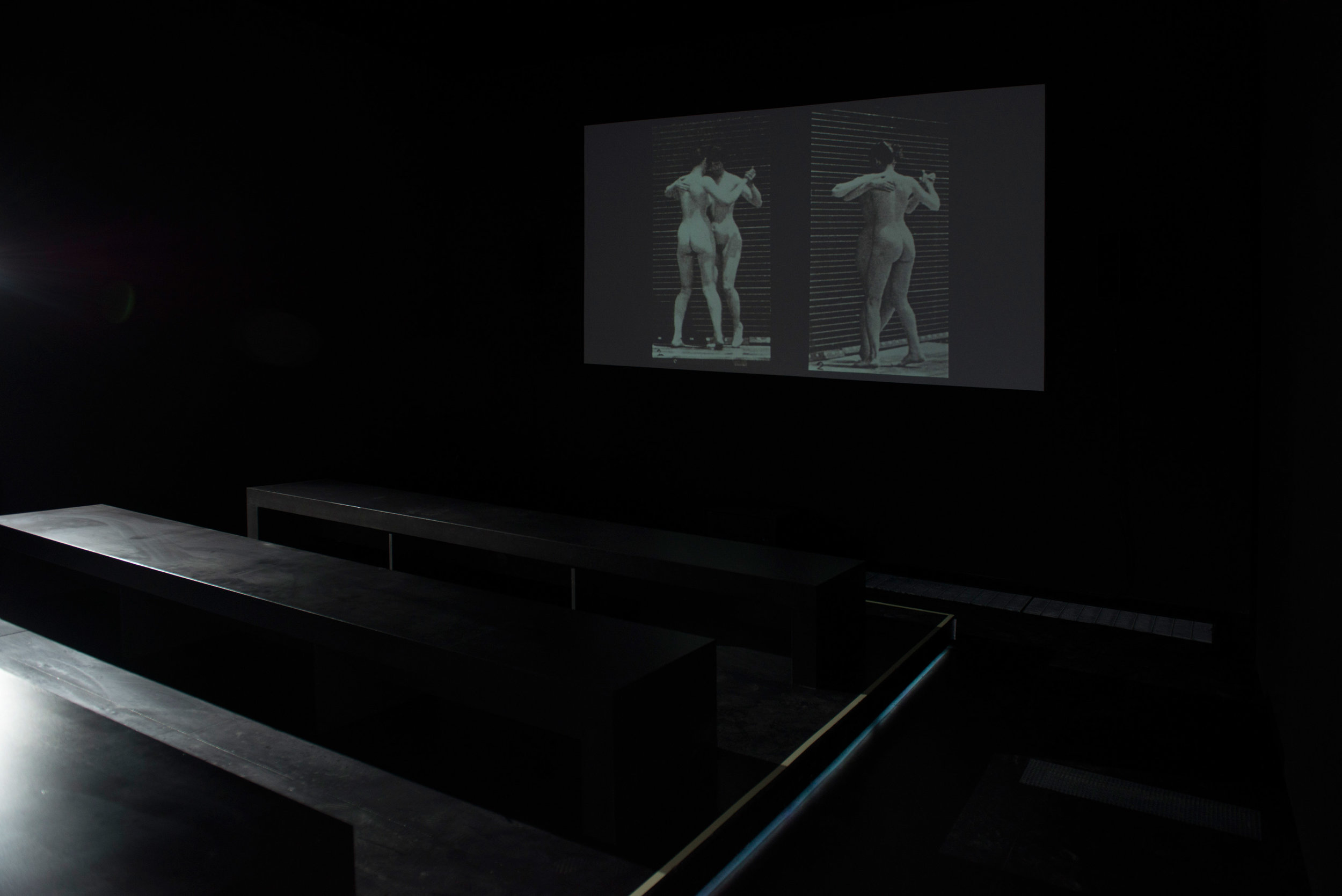 Picture Industry,  Systematically Open? New Forms for Contemporary Image Production, LUMA Arles, France, 2016.     Film Screening Room: Thom Andersen, Harun Farocki, Morgan Fisher, Louisand Auguste Lumière, and Seth Price