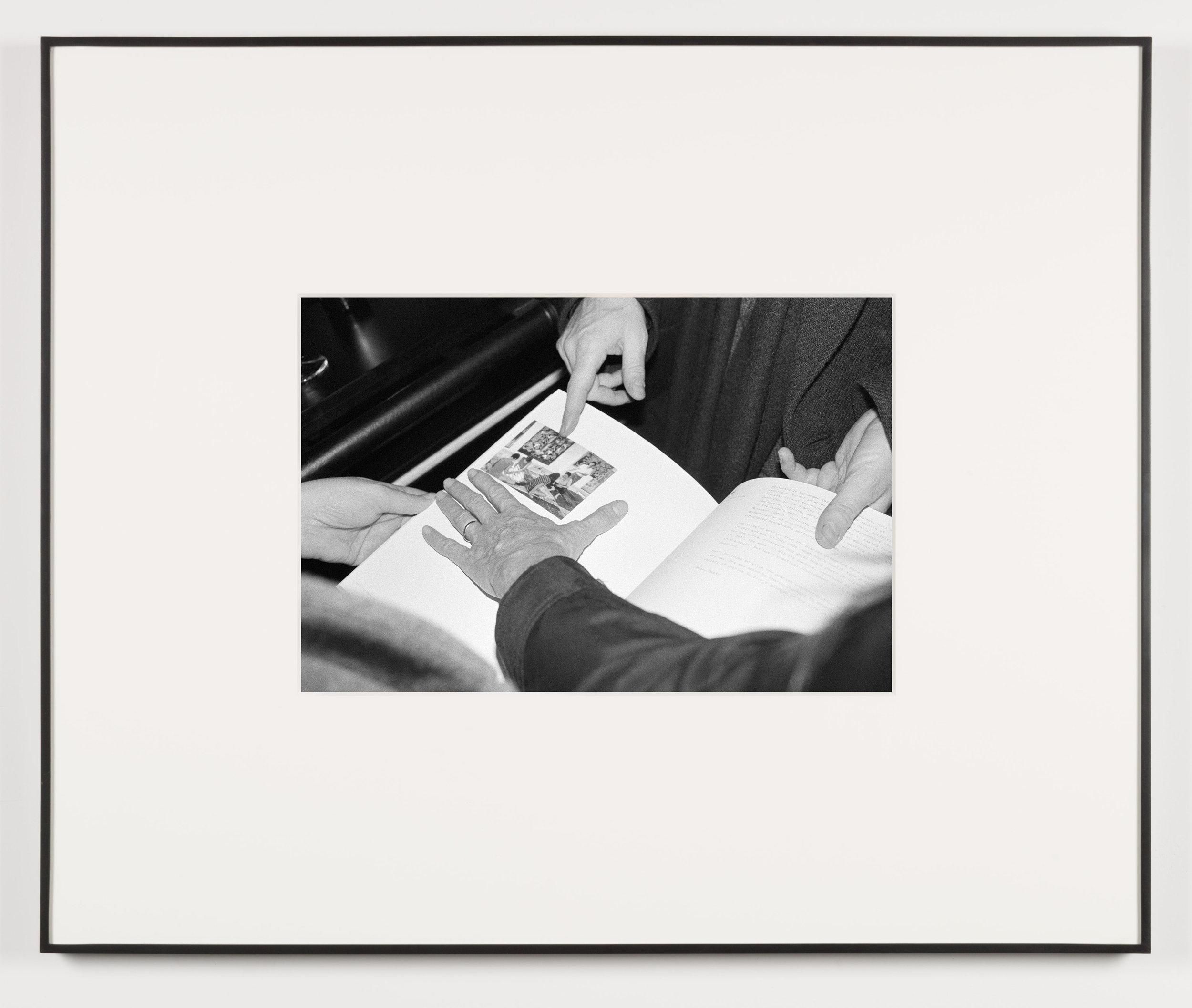 Die Erotische (Vienna, Austria, November 22, 2012)   2014  Black and white digital fiber print  13 1/2 x 20 inches   Art Handling, 2011–    Selected Bodies of Work, 2014