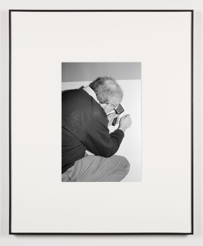 Der Hausdrachen (Waltham, Massachusetts, February 4, 2013)   2014  Black and white digital fiber print  20 x 13 1/2 inches   Art Handling, 2011–    Selected Bodies of Work, 2014