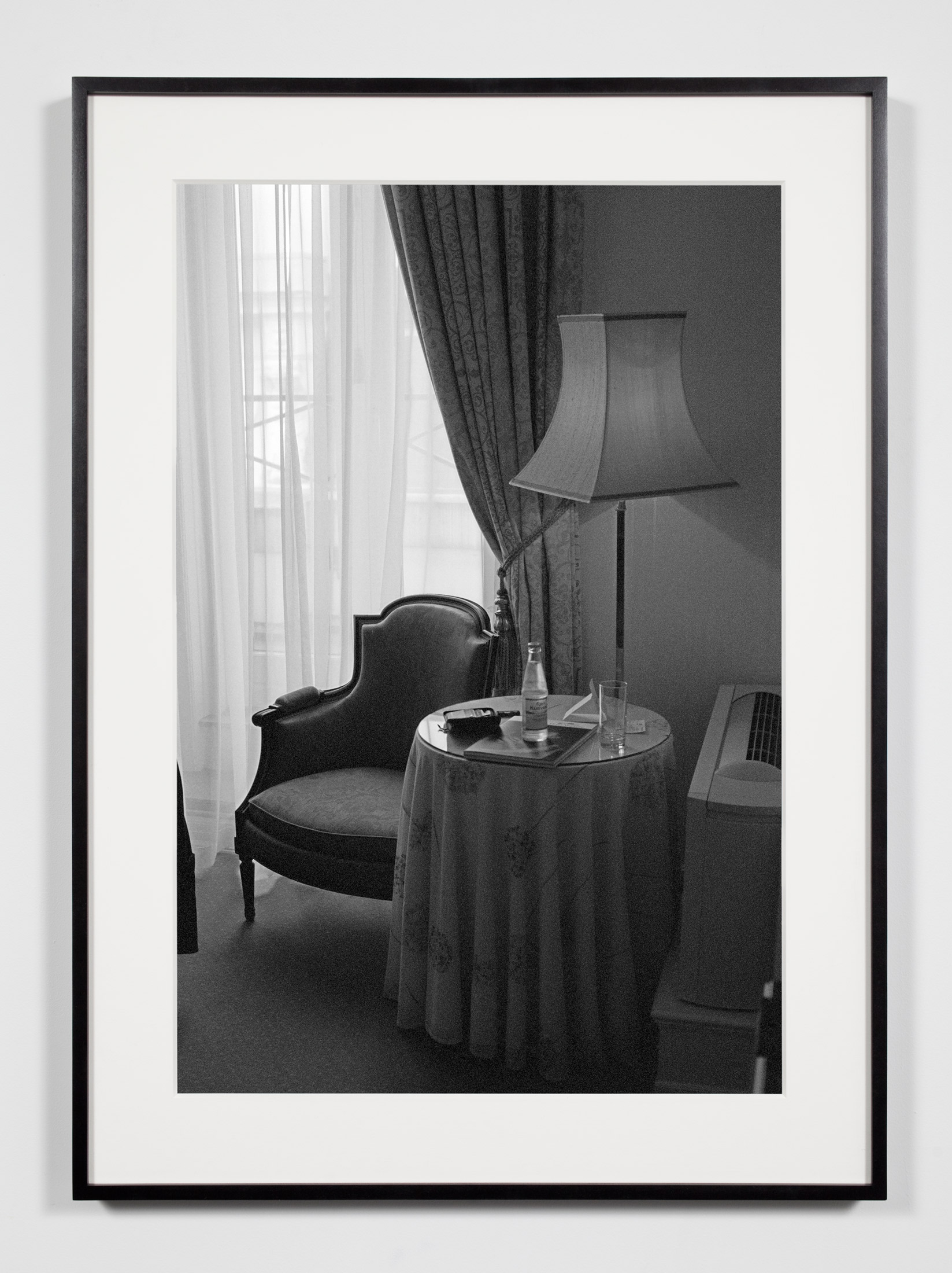 Hotel Room, Copenhagen, Denmark, May 15, 2010    2011   Epson Ultrachrome K3 archival ink jet print on Hahnemühle Photo Rag paper  36 3/8 x 26 3/8 inches   A Diagram of Forces, 2011