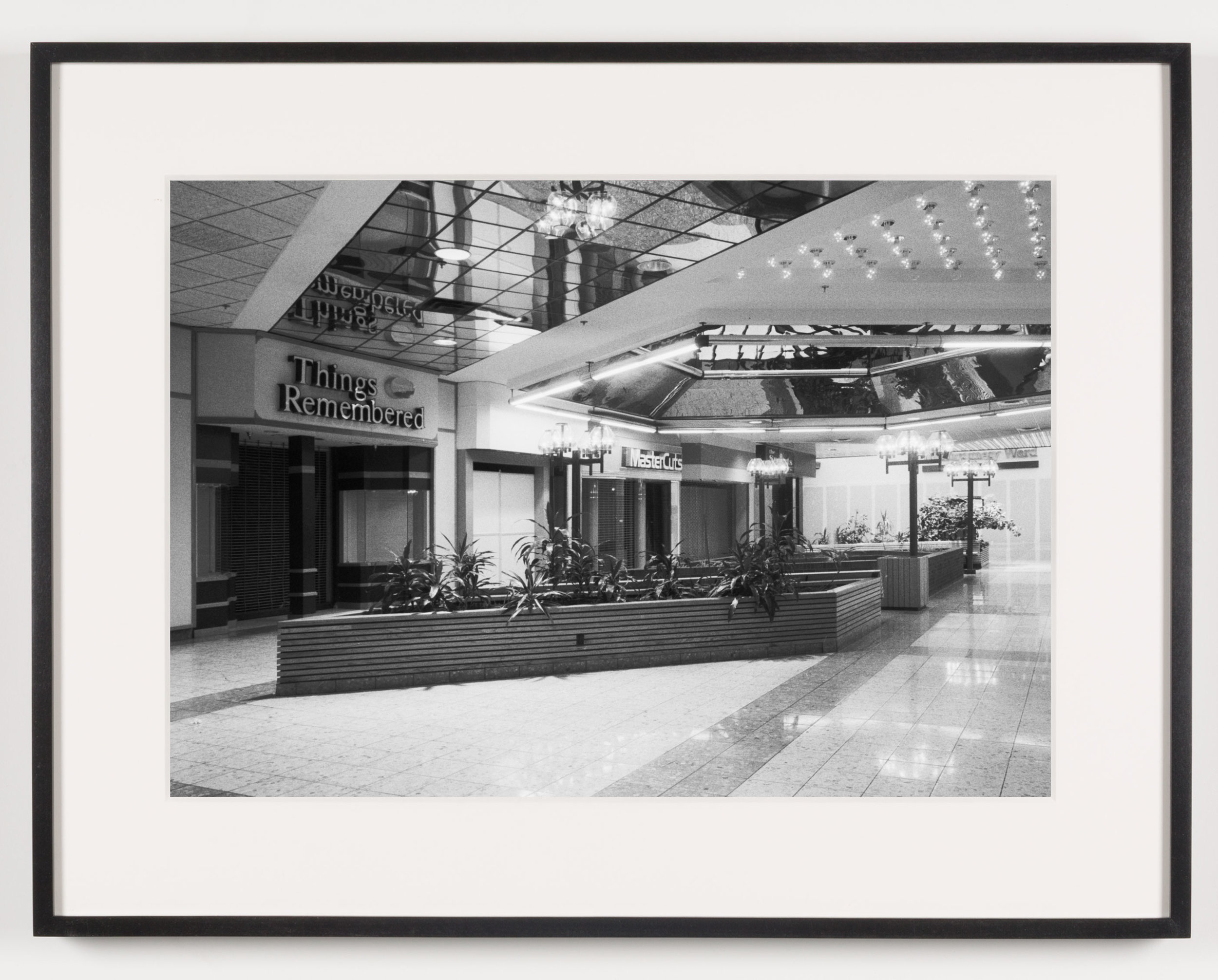 Southwyck Mall, Toledo, OH, Est 1972, Demo 2008   2011  Epson Ultrachrome K3 archival ink jet print on Hahnemühle Photo Rag paper  21 5/8 x 28 1/8 inches   American Passages, 2001–2011    A Diagram of Forces, 2011