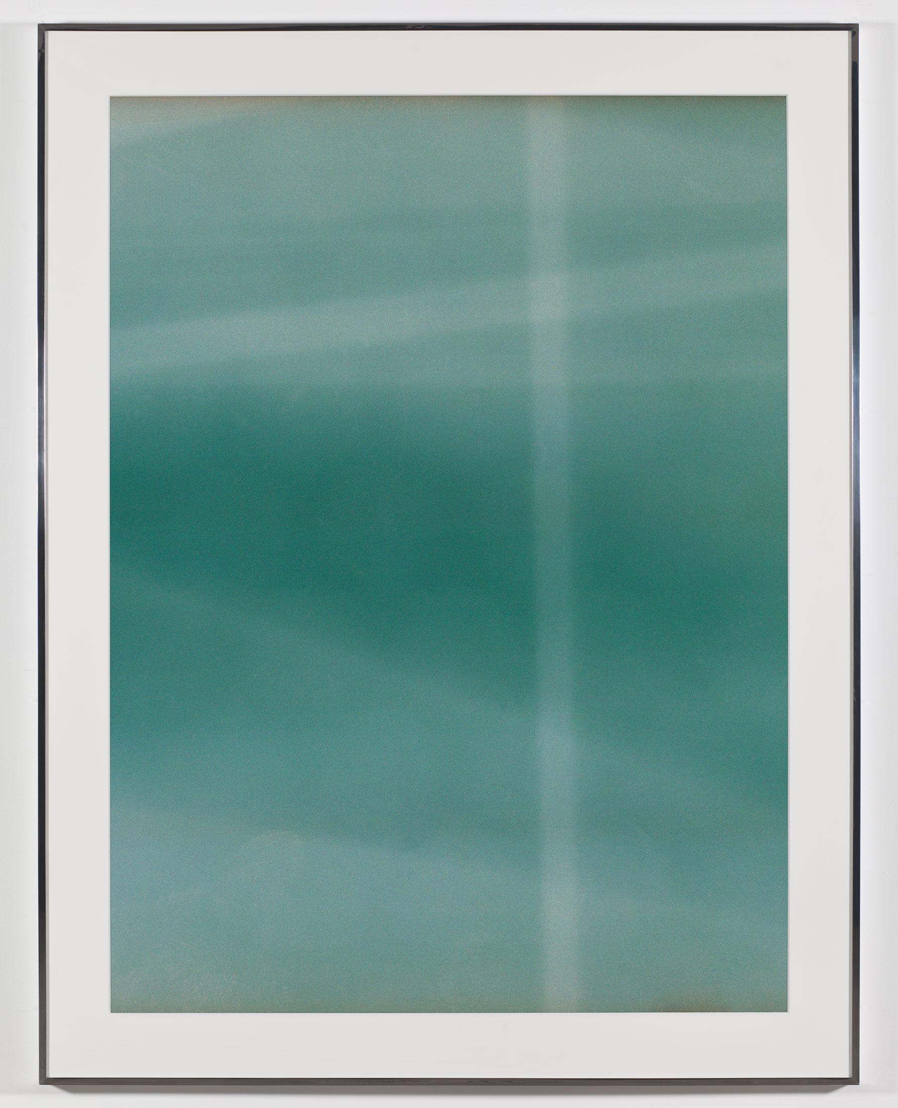 Transparency (Negative) [Kodak Portra 400NC Em. No. 51341: May 28–June 29, 2008 ORD/LAX LAX/JFK JFK/LAX]   2009  Epson Ultrachrome K3 archival ink jet print on Museo Silver Rag Paper  68 x 52 1/4 inches   Transparencies, 2008–2014    FIVE, 2009