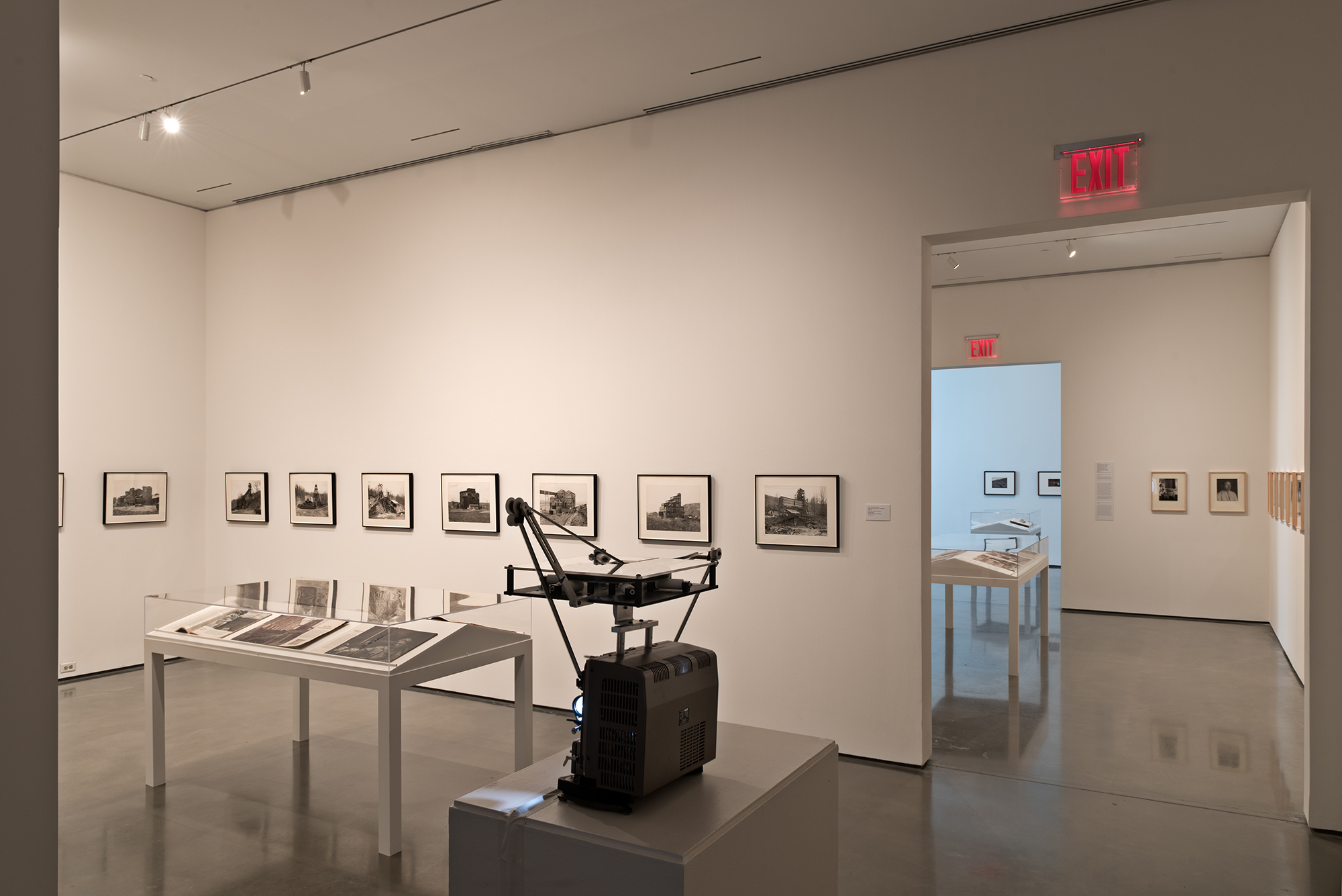 Picture Industry , Hessel Museum, Center for Curatorial Studies, Bard College, Annandale-on-Hudson, NY, 2017.     Bernd and Hilla Becher, Walker Evans, and Morgan Fisher