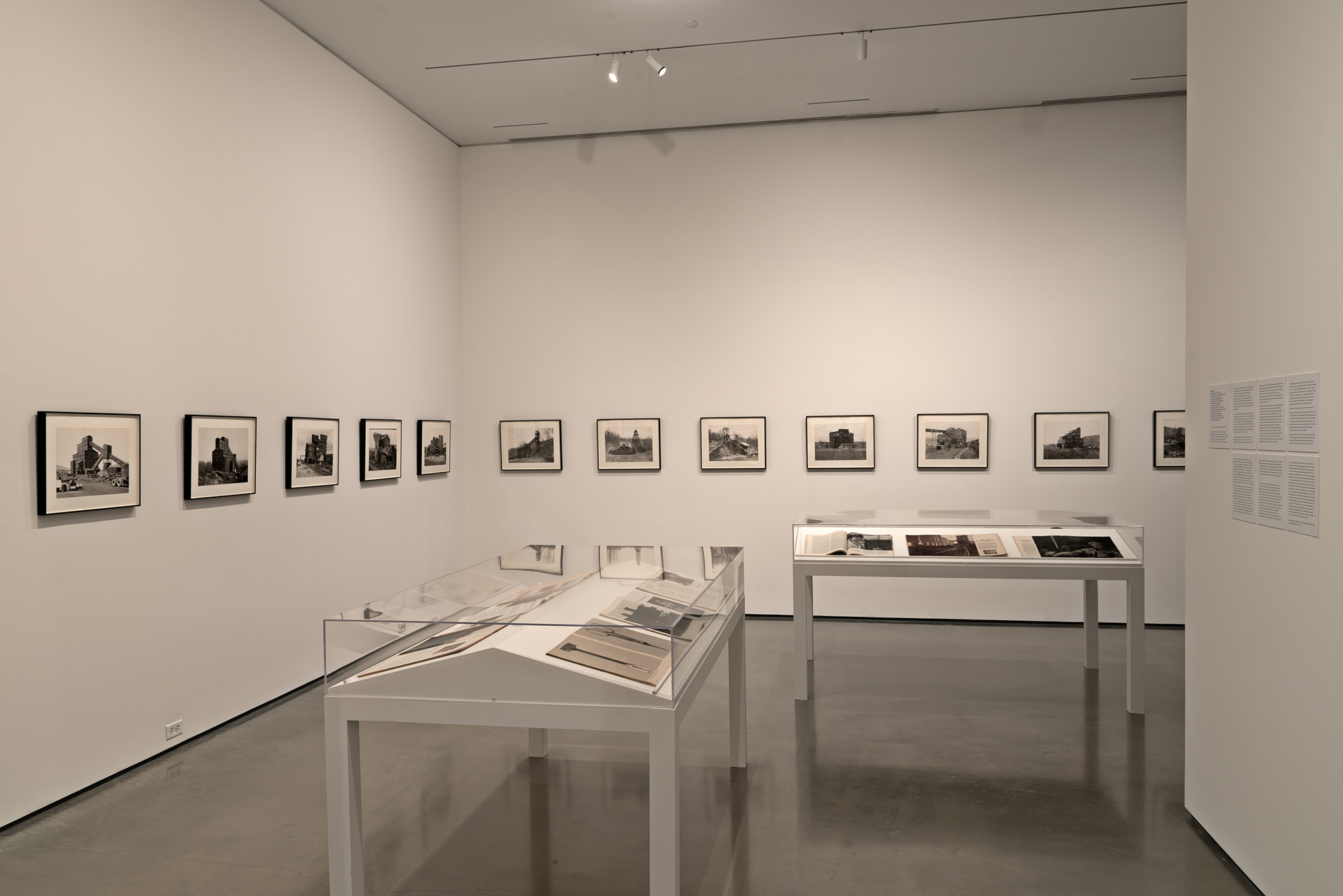 Picture Industry , Hessel Museum, Center for Curatorial Studies, Bard College, Annandale-on-Hudson, NY, 2017.     Bernd and Hilla Becher and Walker Evans