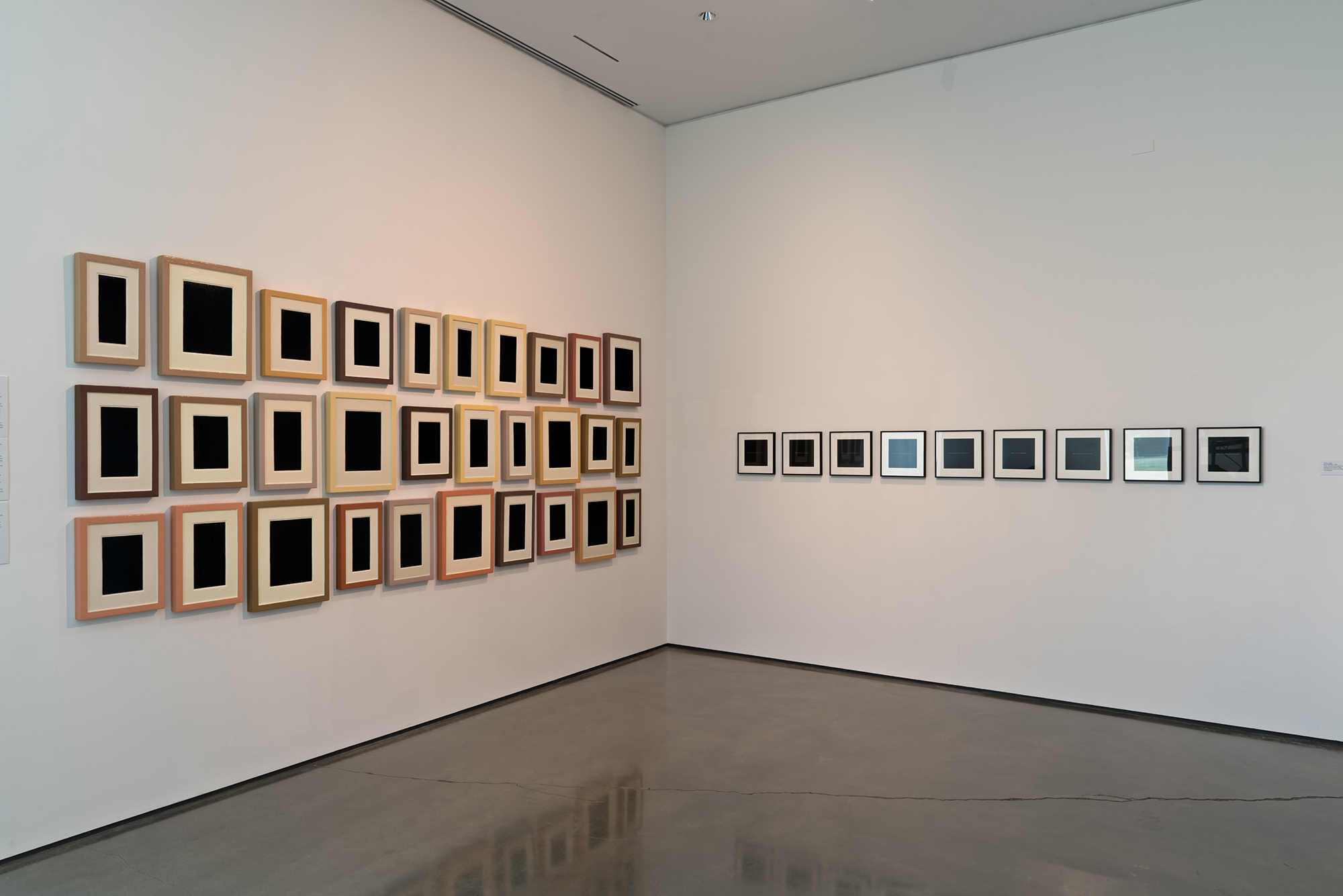 Picture Industry , Hessel Museum, Center for Curatorial Studies, Bard College, Annandale-on-Hudson, NY, 2017.     Allan McCollum and Glenn Ligon