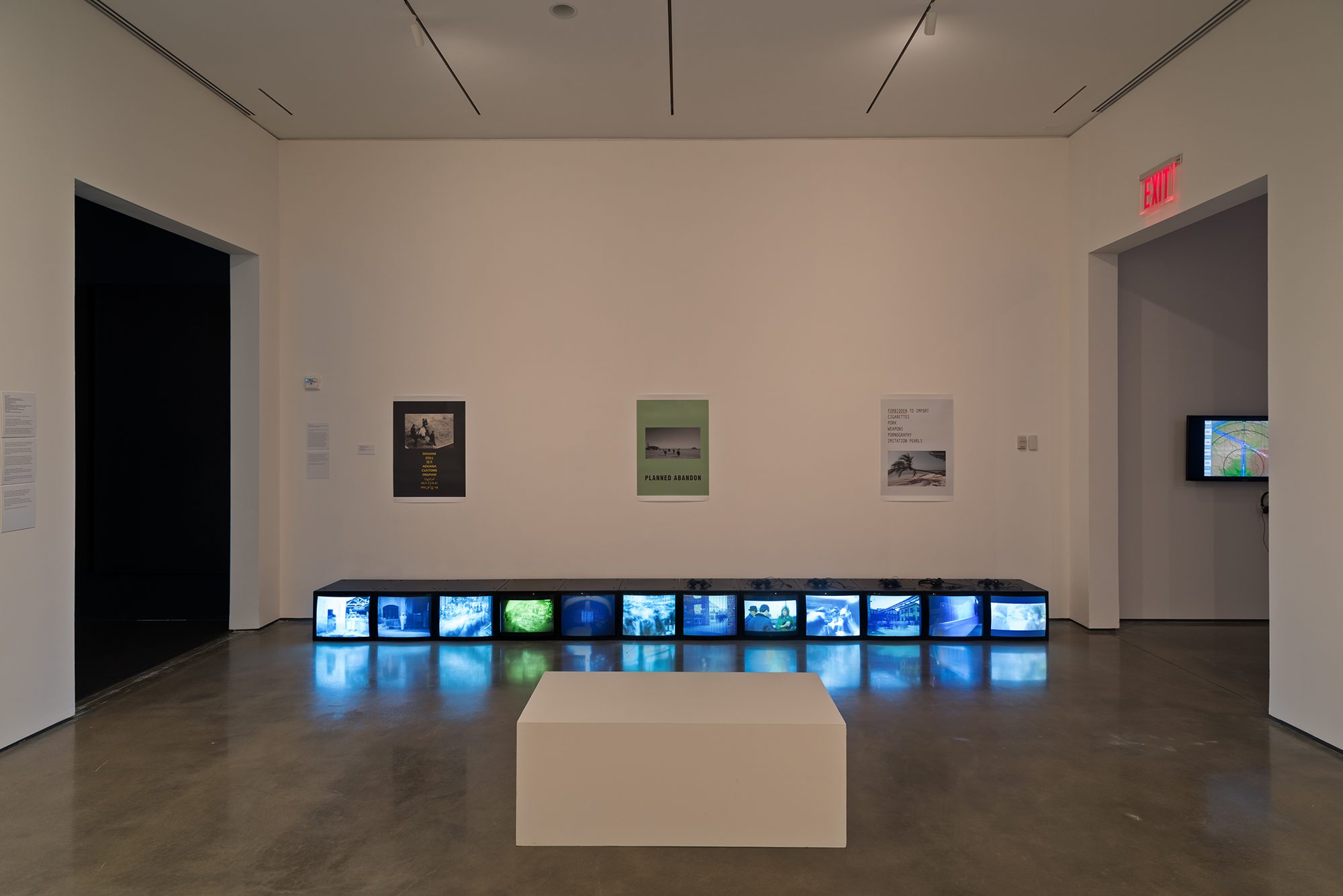 Picture Industry , Hessel Museum, Center for Curatorial Studies, Bard College, Annandale-on-Hudson, NY, 2017.     Barbara Bloom and Harun Farocki