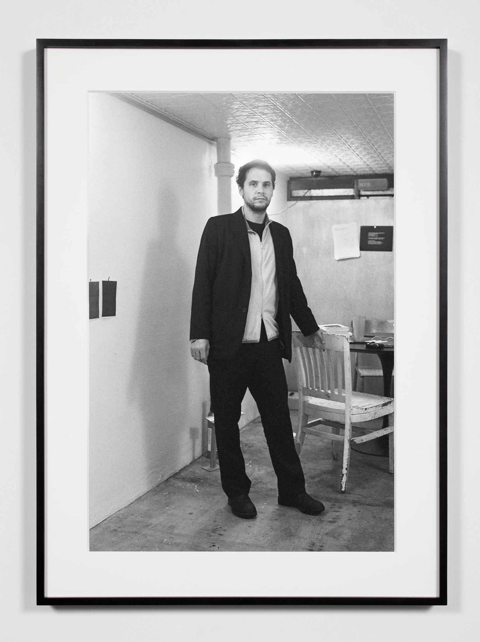 Artist/Designer/Editor/Writer, New York, New York, September 27, 2009    2011   Epson Ultrachrome K3 archival ink jet print on Hahnemühle Photo Rag paper  36 3/8 x 26 3/8 inches   Industrial Portraits, 2008–