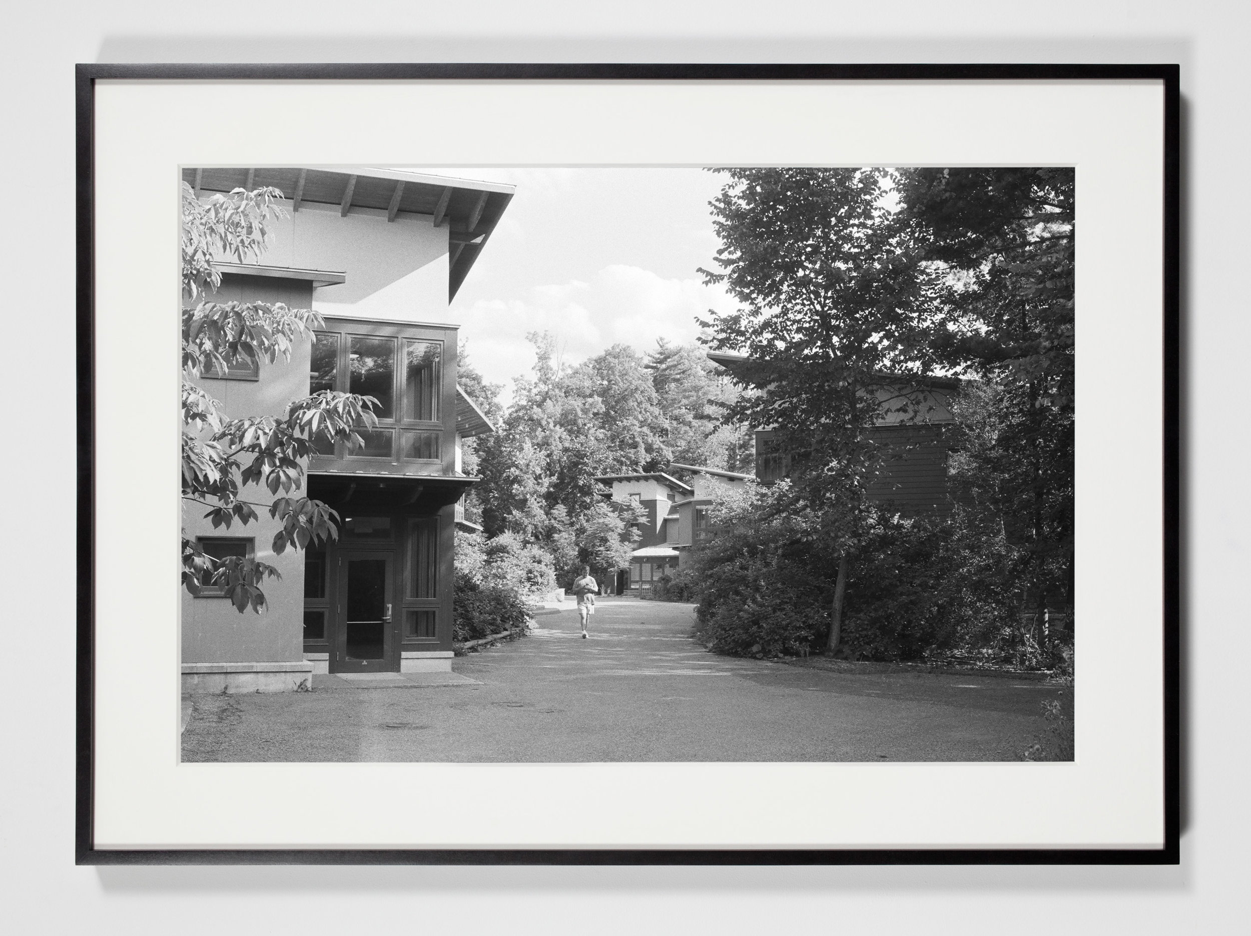 College Dormitories, Annandale-on-Hudson, New York, July 11, 2009    2011   Epson Ultrachrome K3 archival ink jet print on Hahnemühle Photo Rag paper  36 3/8 x 26 3/8 inches   Industrial Portraits, 2008–