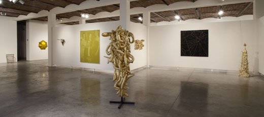 The Gold Standard —co-curated with Bob Nickas, P.S.1 Contemporary Art Center, Long Island City, NY.     Participating Artists: John Armleder, Andisheh Avini, Barry X Ball, Marcel Broodthaers, Tim Davis, Thomas Demand, Jessica Diamond, Sylvie Fleury, Felisa Funes, Piero Golia, Wayne Gonzales, Kent Henricksen, Thomas Hirschhorn, Fred Holland, Alfredo Jaar, Annette Kelm, Terence Koh, Yayoi Kusama, Louise Lawler, Daniel Lefcourt, Sherrie Levine, John Miller, Geof Oppenheimer, Mai-Thu Perret, Paul Pfeiffer, Seth Price, Rob Pruitt, David Ratcliff, Tim Rollins and K.O.S., Haim Steinbach, Sturtevant, Vincent Szarek, Wolfgang Tillmans, Kelley Walker, James Welling, and Eric Wesley.