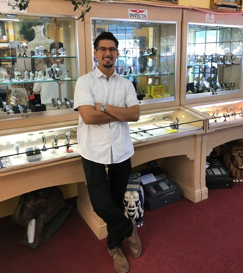 RICARDO FLORES    Expert in coin and currency information along with watch repairs. Assists with both customer service and online sales.