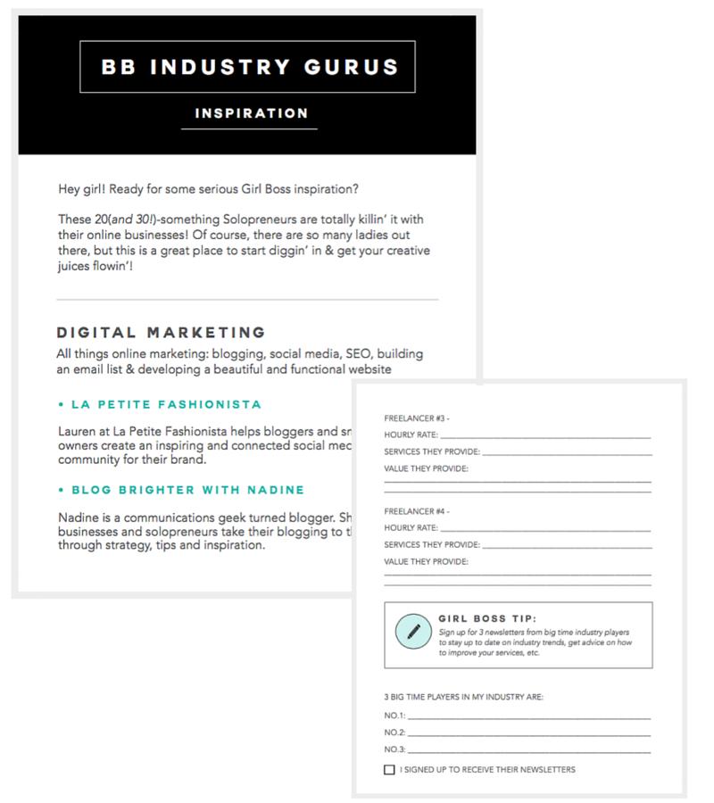 Interactive Bonus PDFs
