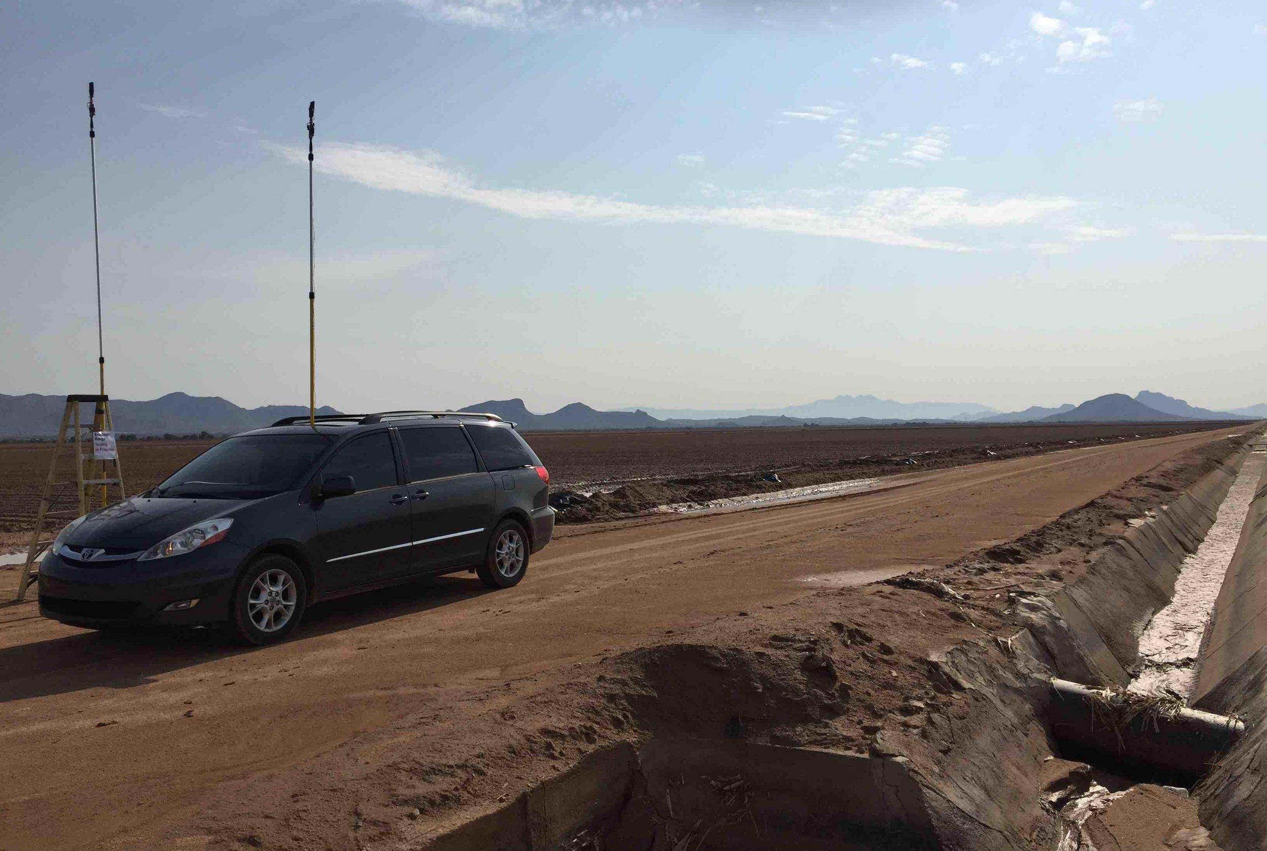 Street View of Scottsdale Arizona Test Site.