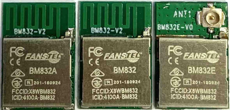 BM832A, BM832, BM832E