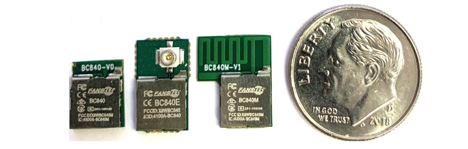 BC840M, BC840, BC840E, Compact nRF52840 modules — Fanstel