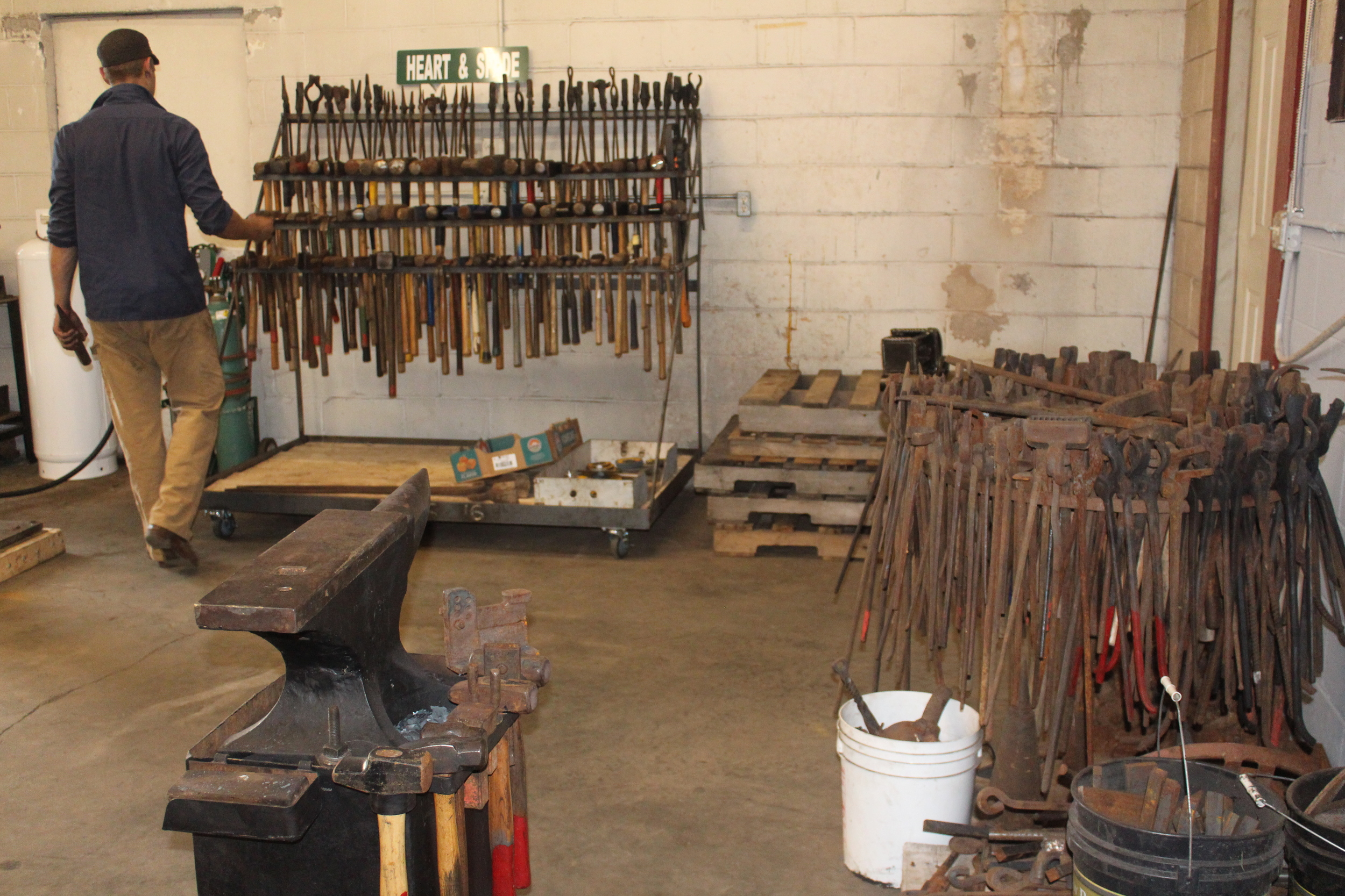 Tools finally getting organized.