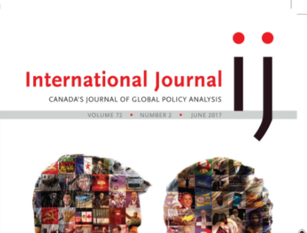 International Journal - Founded in 1946, International Journal (IJ) is Canada's pre-eminent journal of global policy analysis. Published in conjunction with the Canadian International Council, it combines brief, policy-relevant articles with longer, peer-reviewed, scholarly assessments of interest to foreign policy makers, analysts and academics in Canada and around the world.