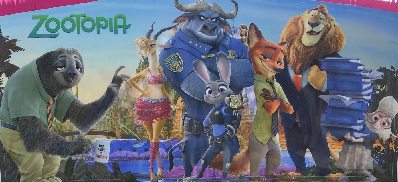 zootopia is available for rent
