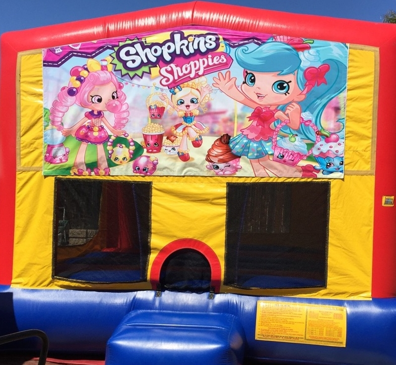 Shopkins Jumper with ball hoop