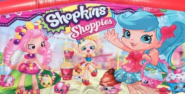 Shopkins Slide Jumper Combo