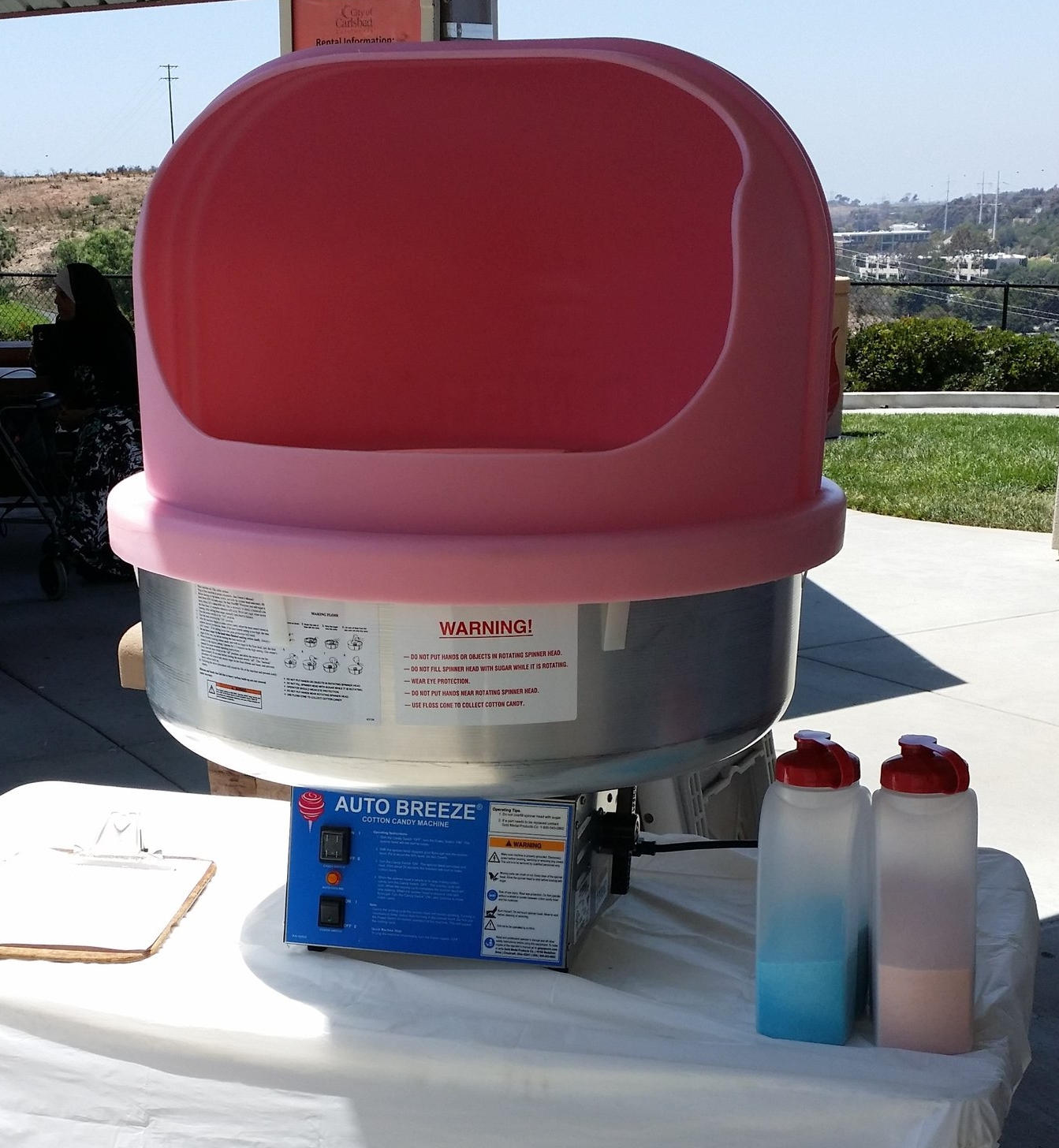 Cotton Candy Machine with Supplies.jpg