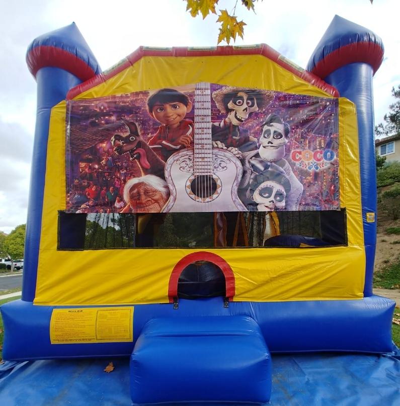 4in1 Coco Castle Combo Jumper