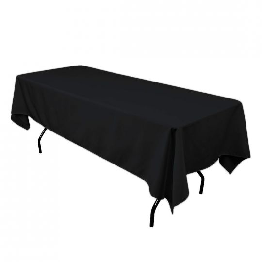 60 x 102 Rectangle Tablecloth Black.jpg