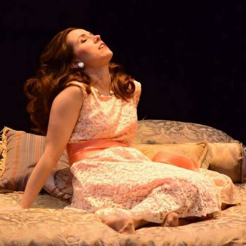 Maggie in  Cat on a Hot Tin Roof