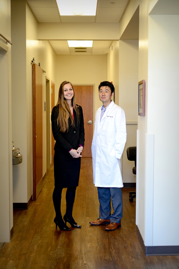 COACH NEV WITH HER MENTOR, DR. CHOI
