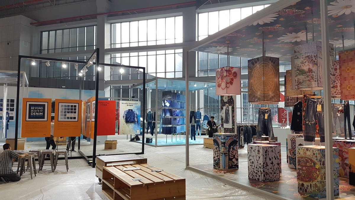 Intertextile Shanghai - Beyond Denim 2017 - Wrote all trend copy and used my photographs for the trend display.