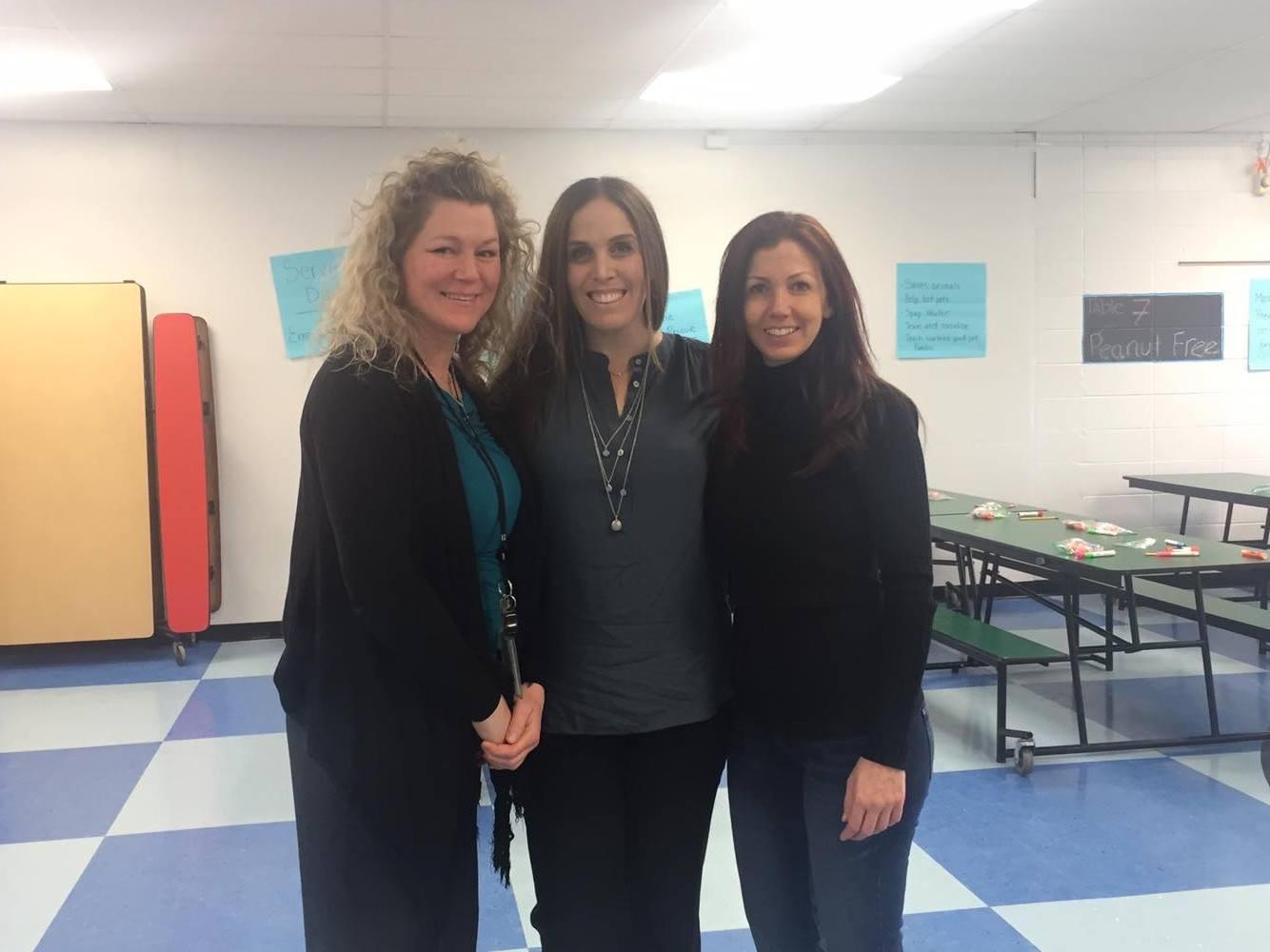 Christine Poggi, Lisa Adamek & Kristina Handley