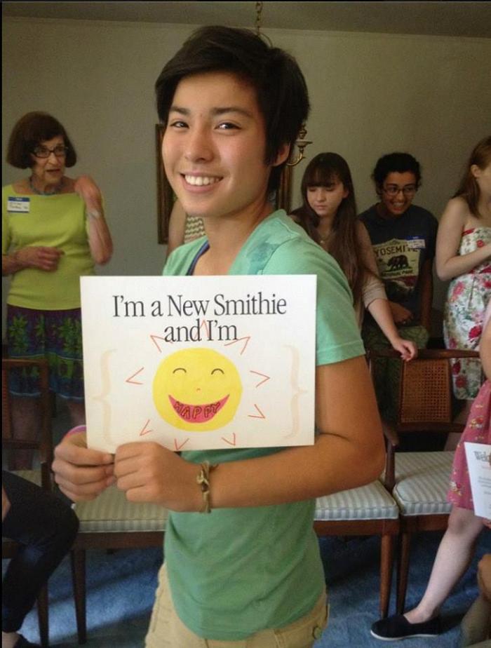 Shelby Kim, Smith Class of 2018