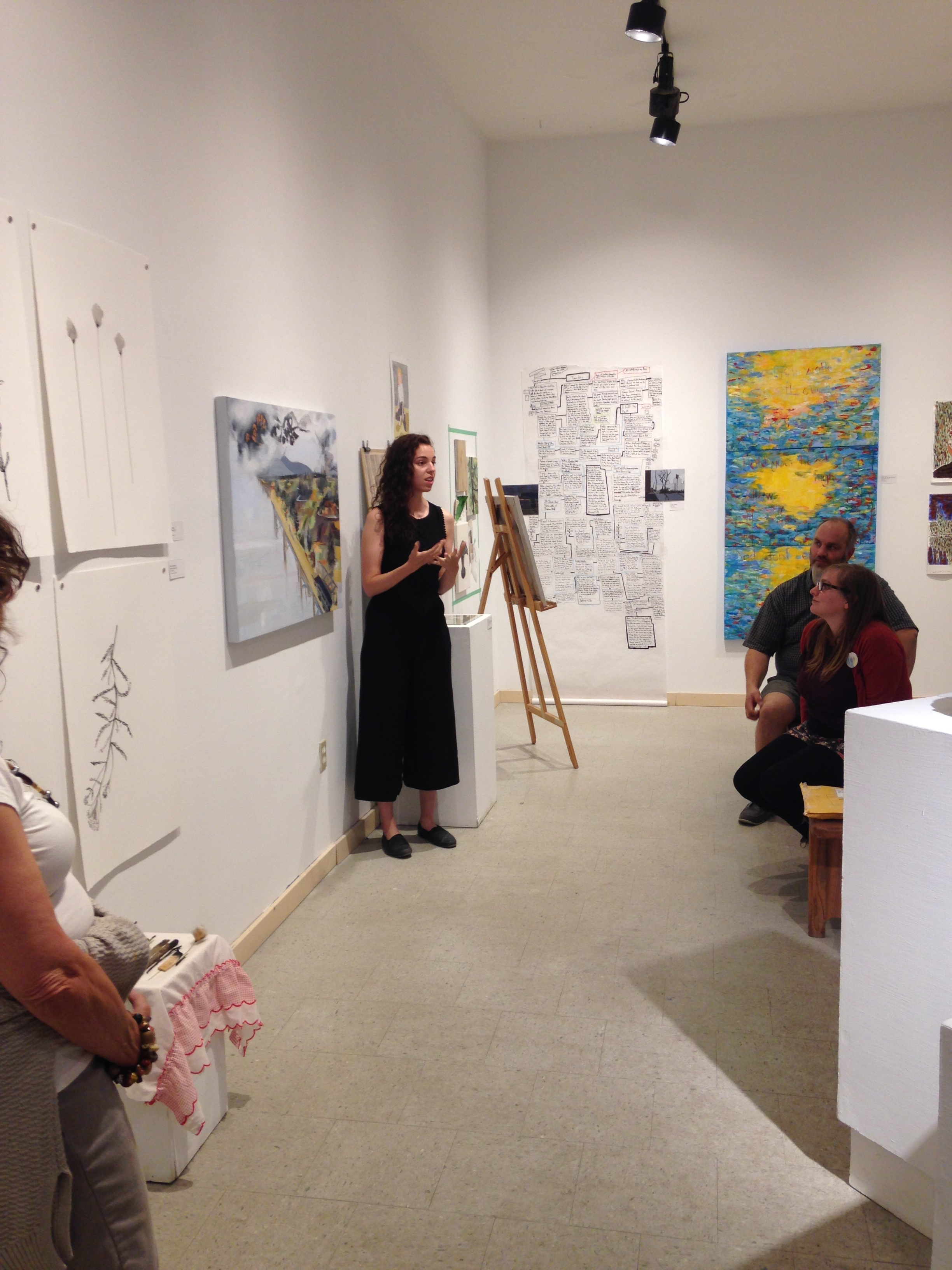 Opening Reception Artist Talk