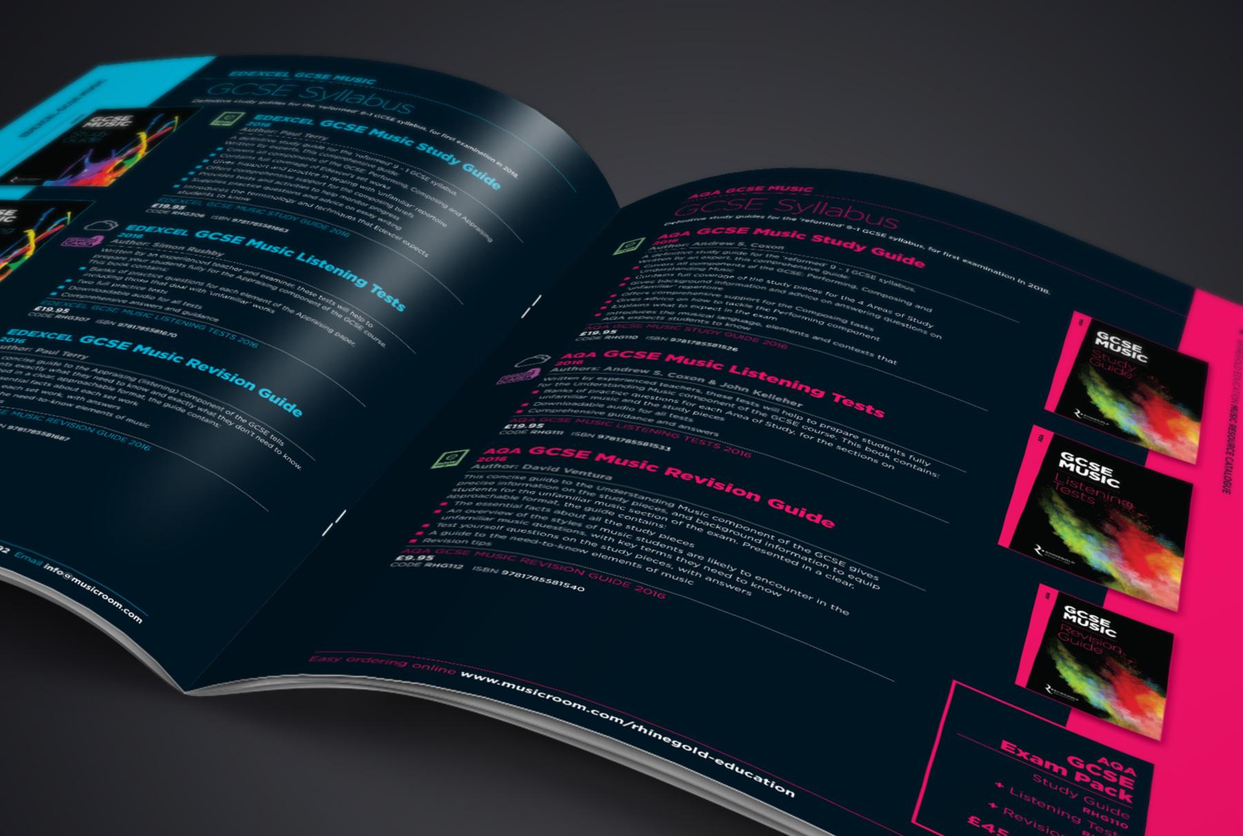 Rhinegold Education catalogue