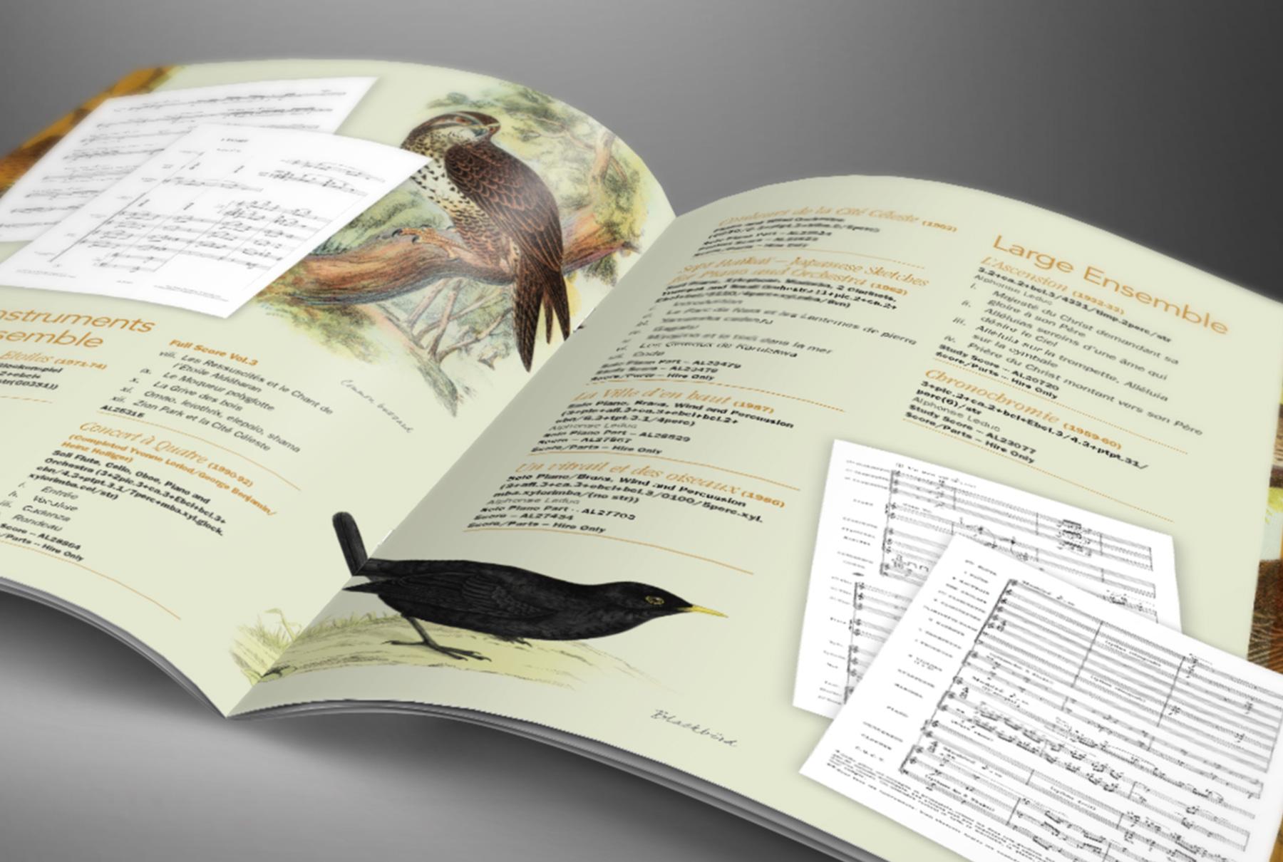 Oliver Messiaen Catalogue
