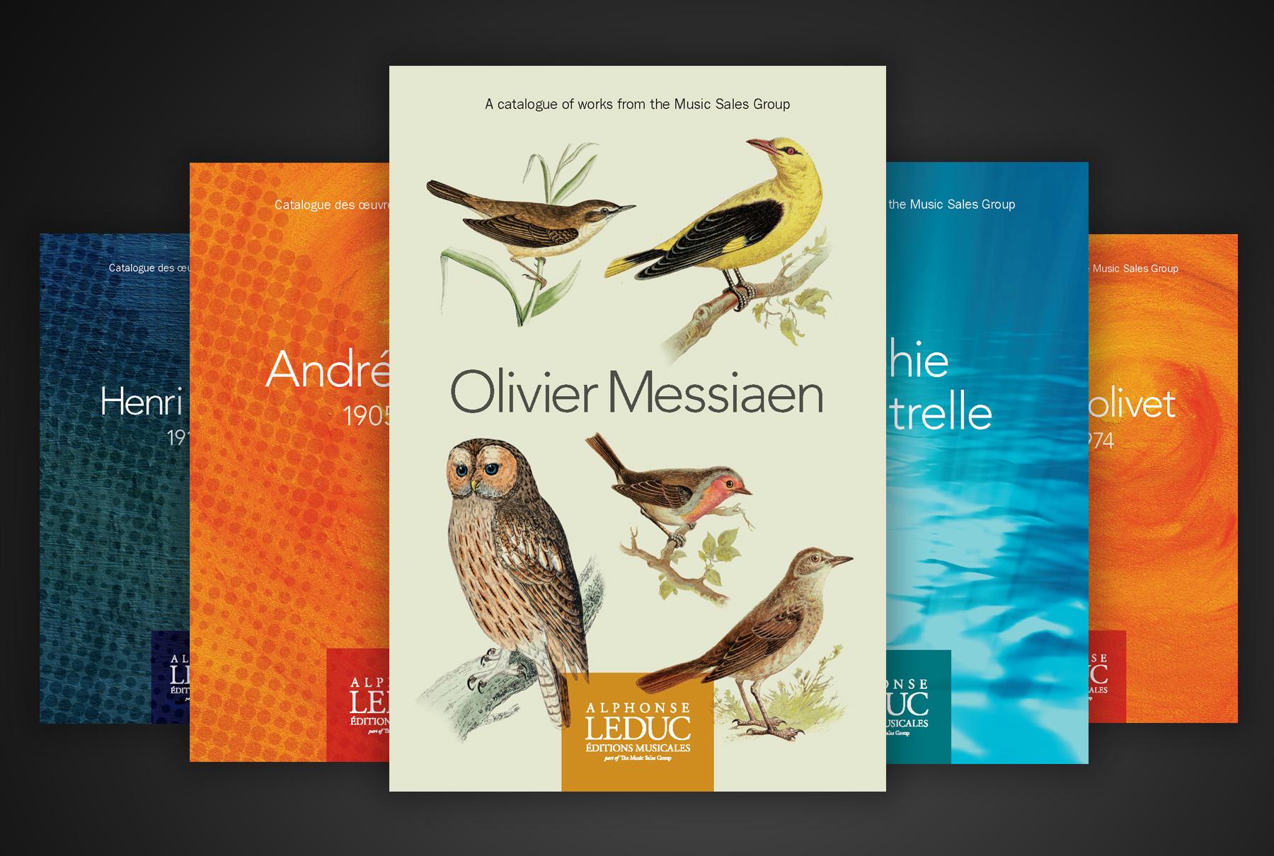 Leduc classical composer catalogue