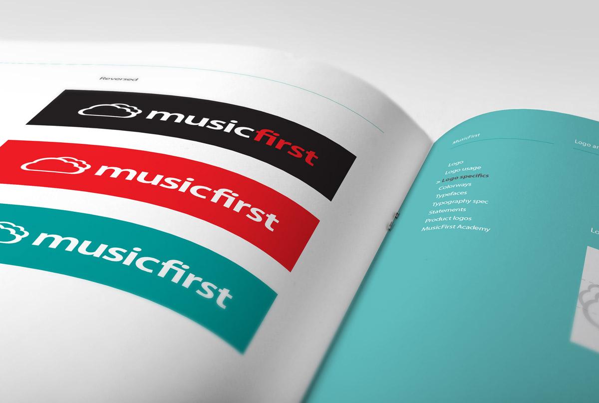 MusicFirst branding guidelines
