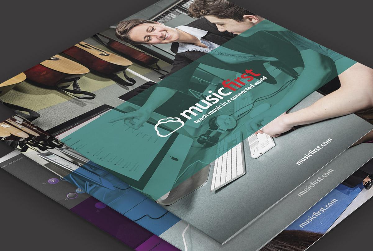 MusicFirst brochure design