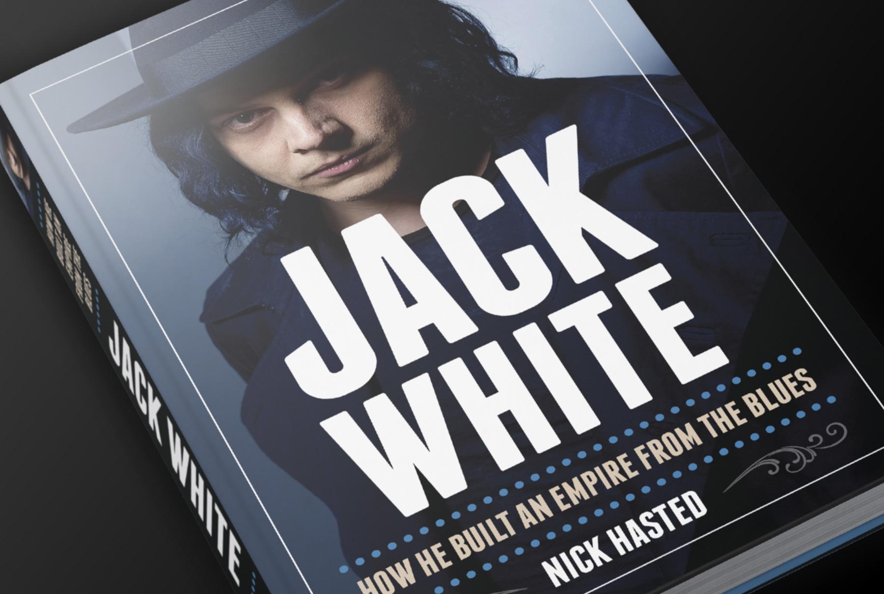 Jack White Stripes Cover design