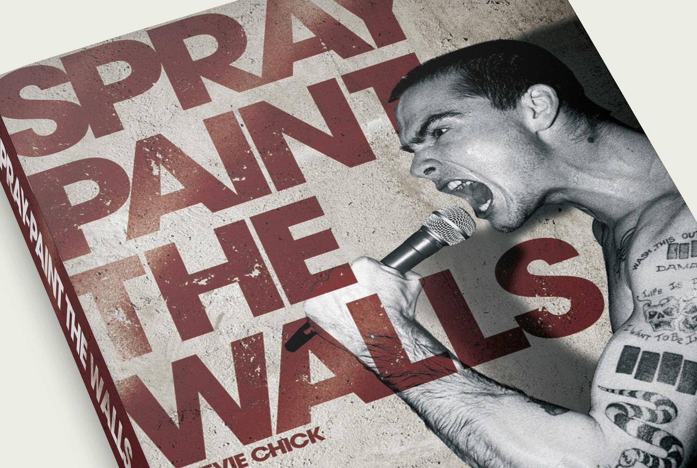 Black Flag Henry Rollins Bok Cover Design