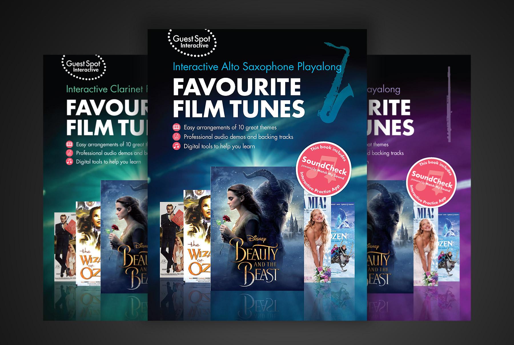 Film tunes book design