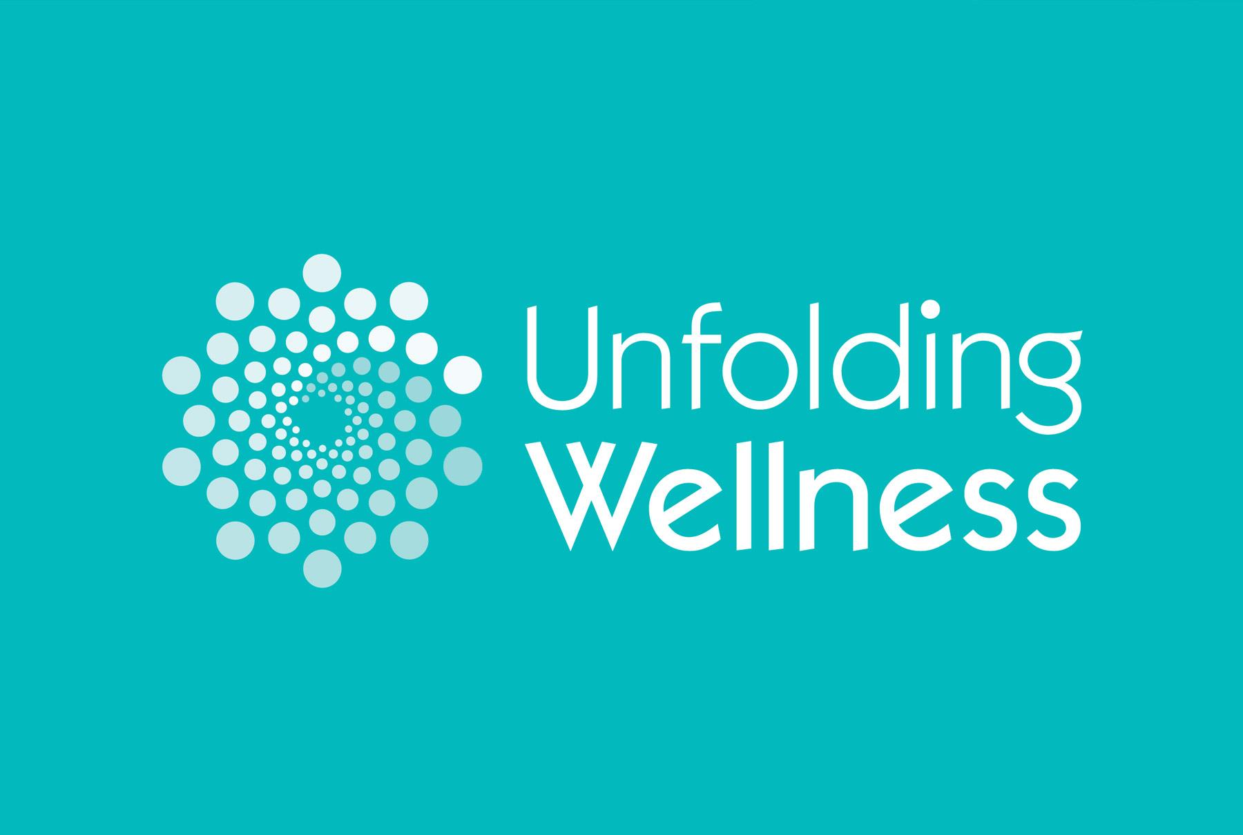 Unfolding Wellness Logo