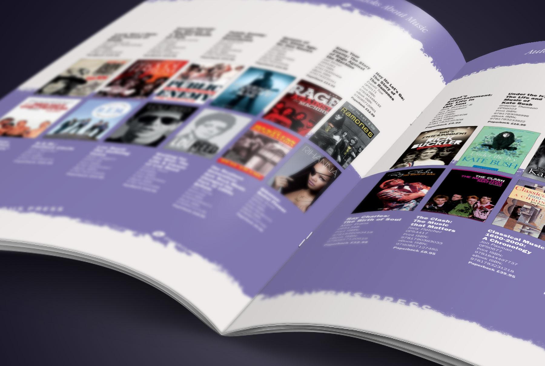 Omnibus Press Catalogue Spread