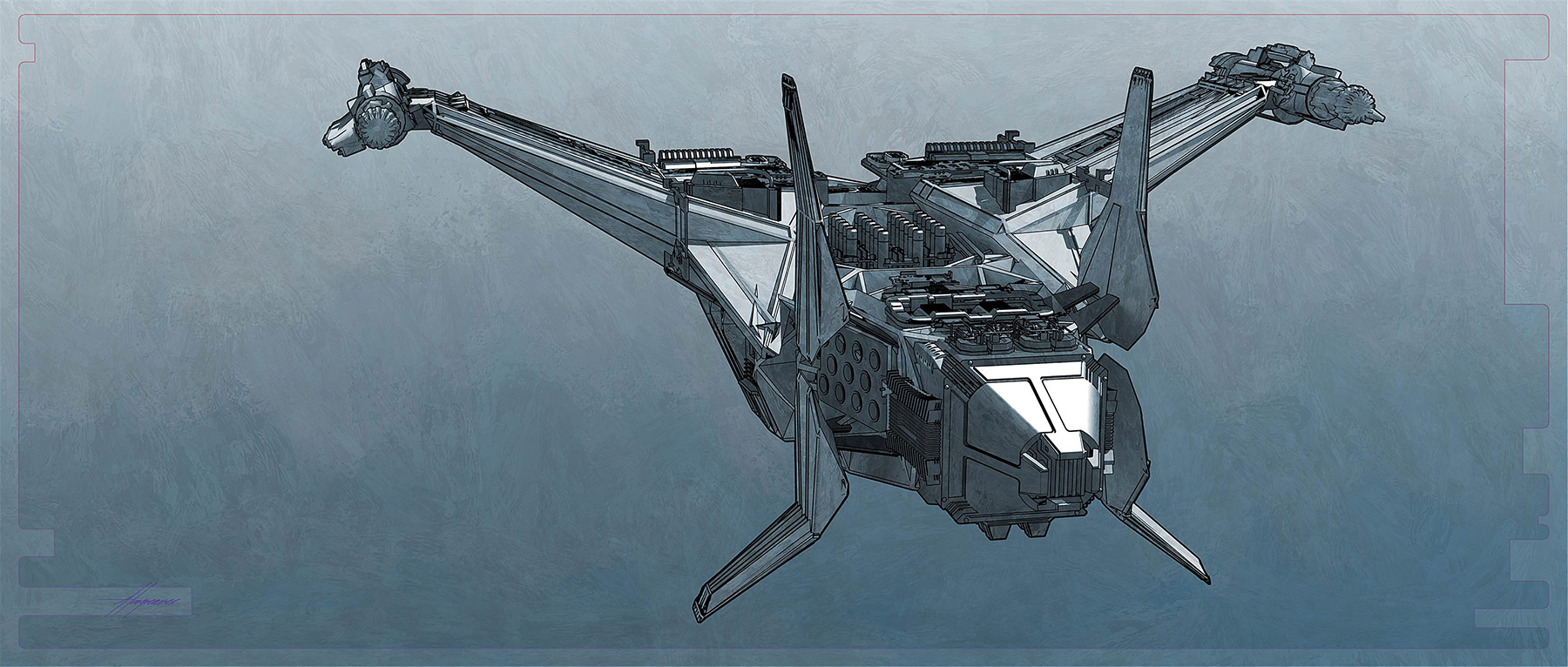 Thor-Ragnarok-Gladiator-Thor-Concept-Art-Sean-Hargreaves-Kingswood-Spaceship-02.jpg